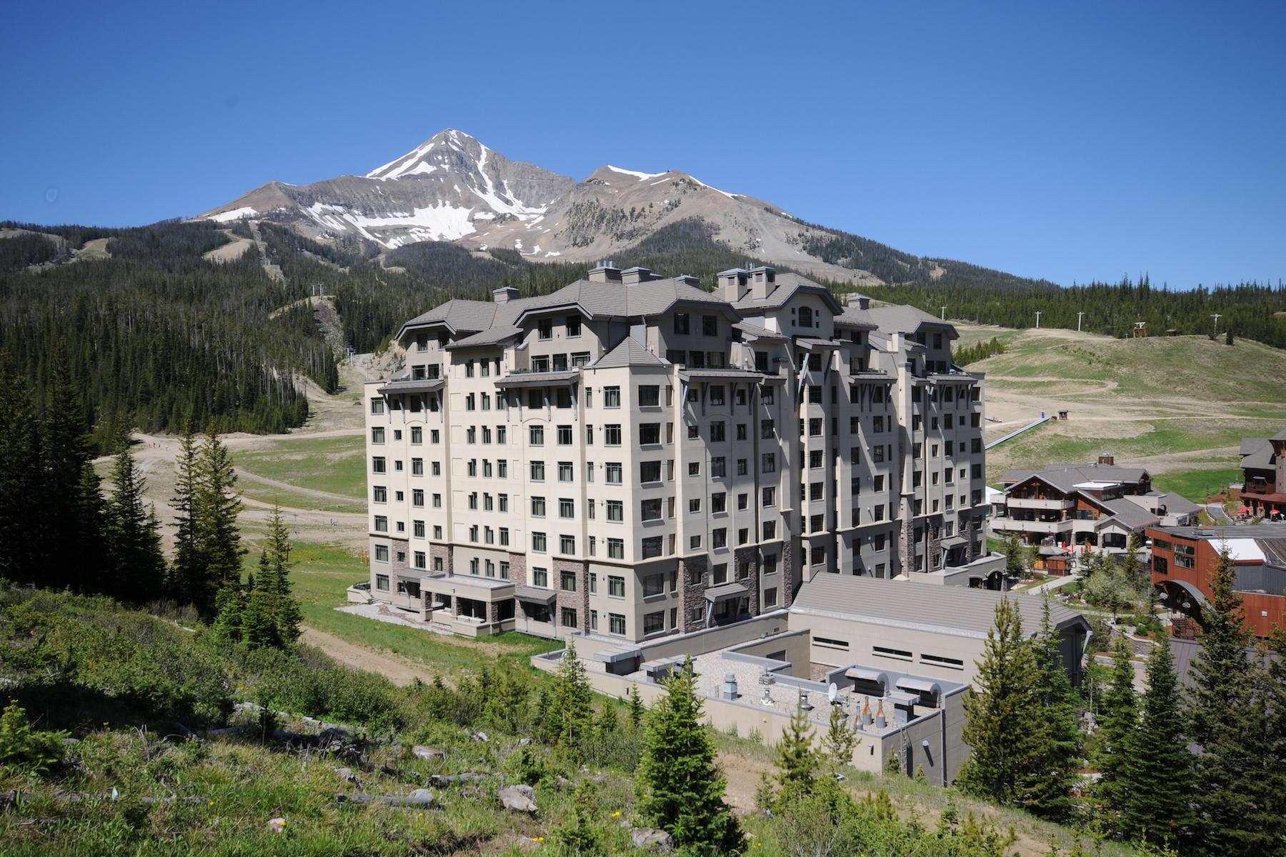 共管物業 為 出售 在 Summit Hotel Condo 60 Big Sky Resort, Summit 10308 Big Sky, 蒙大拿州, 59716 美國