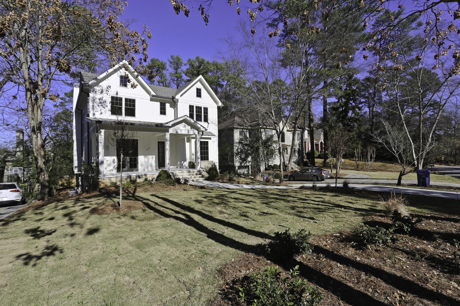 Additional photo for property listing at New Construction by JackBilt Homes. 870 Wildwood Road NE Atlanta, Geórgia 30324 Estados Unidos