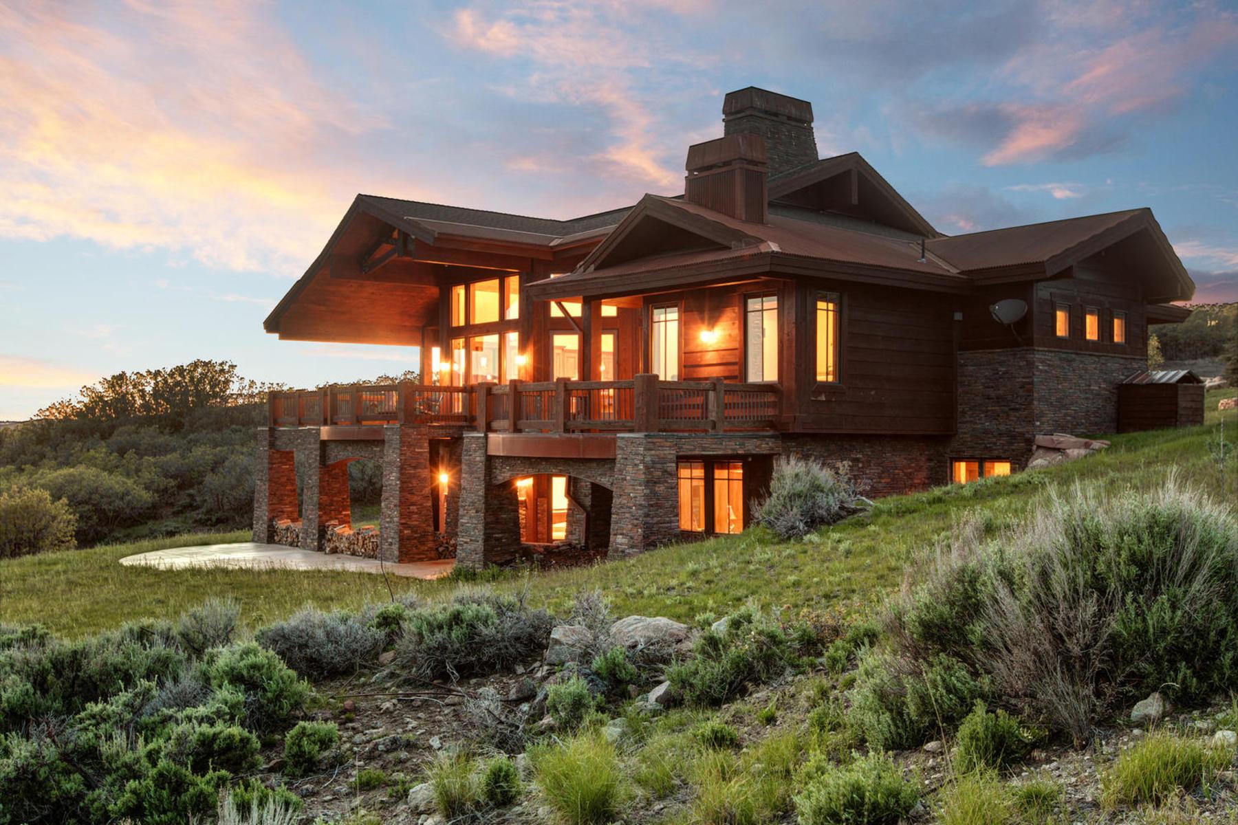 Частный односемейный дом для того Продажа на Immaculate Promontory Home 8931 Hidden Hill Lp Park City, Юта, 84098 Соединенные Штаты