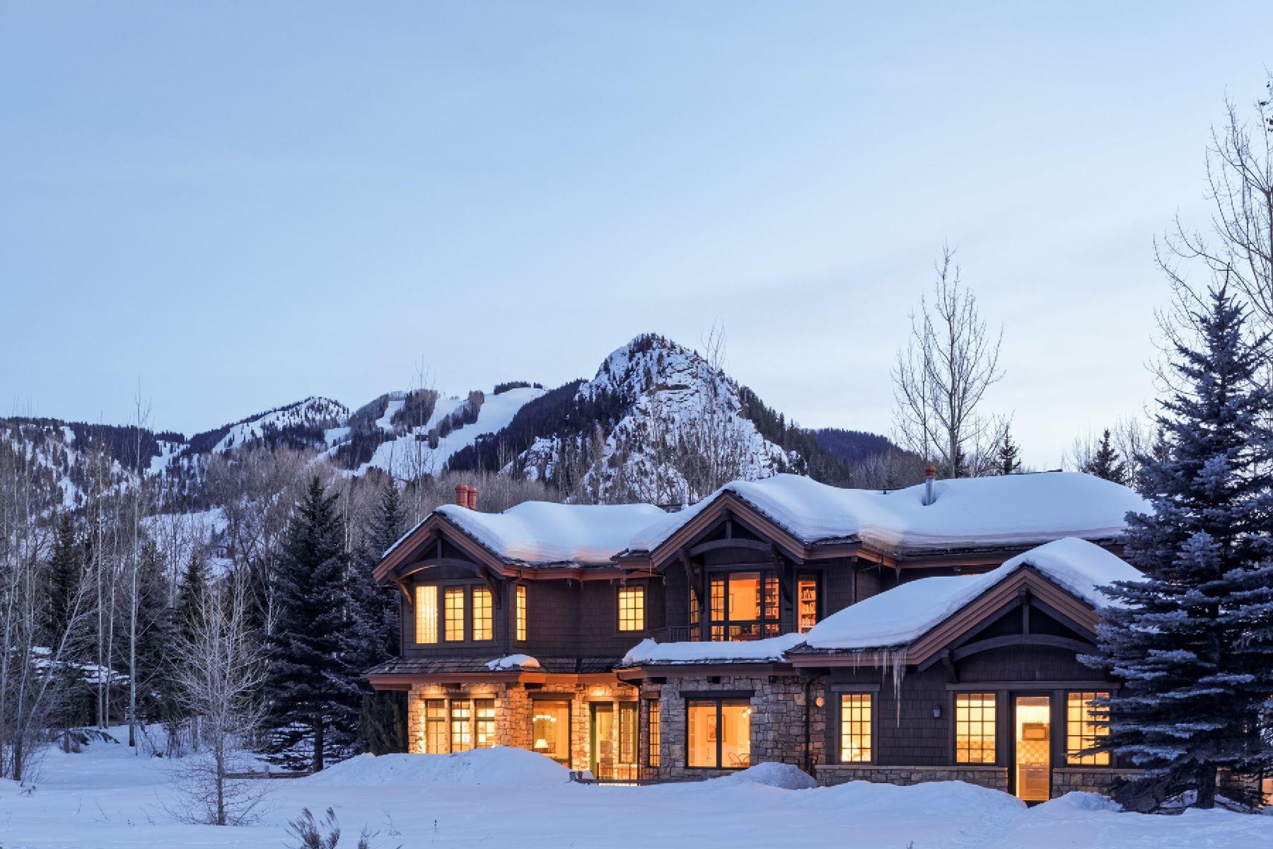 Tek Ailelik Ev için Satış at Aspen Meadows 650 Meadows Road Aspen, Colorado, 81611 Amerika Birleşik Devletleri