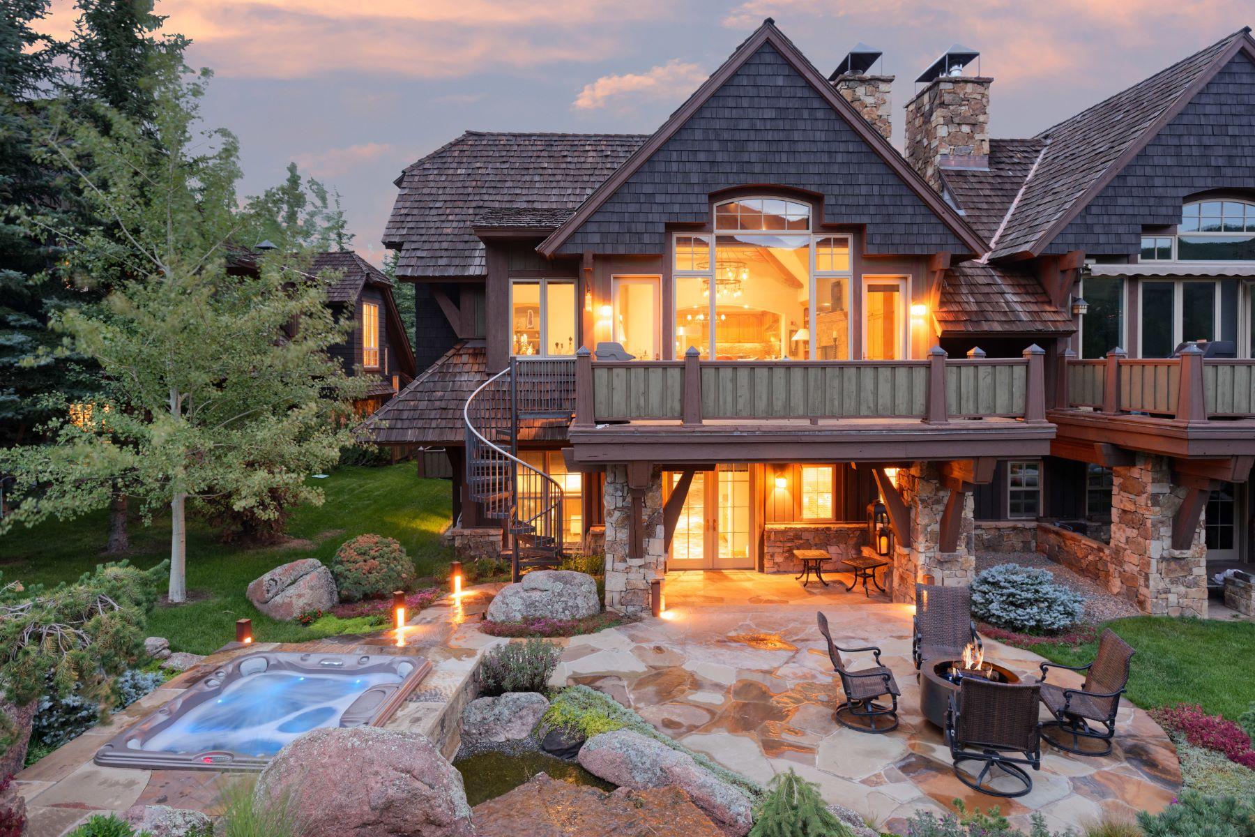 단독 가정 주택 용 매매 에 Slopeside at Tiehack 509 Oregon Trail Aspen, 콜로라도, 81611 미국