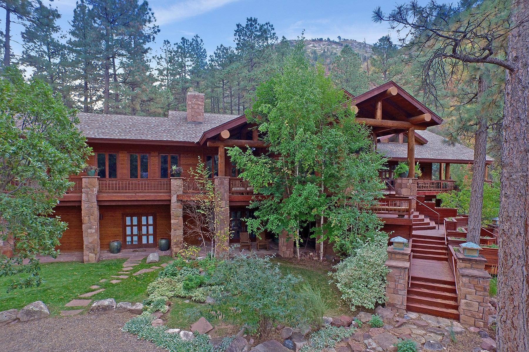 Maison unifamiliale pour l Vente à Skywater Ranch 6410 CR 250 Durango, Colorado, 81301 États-Unis