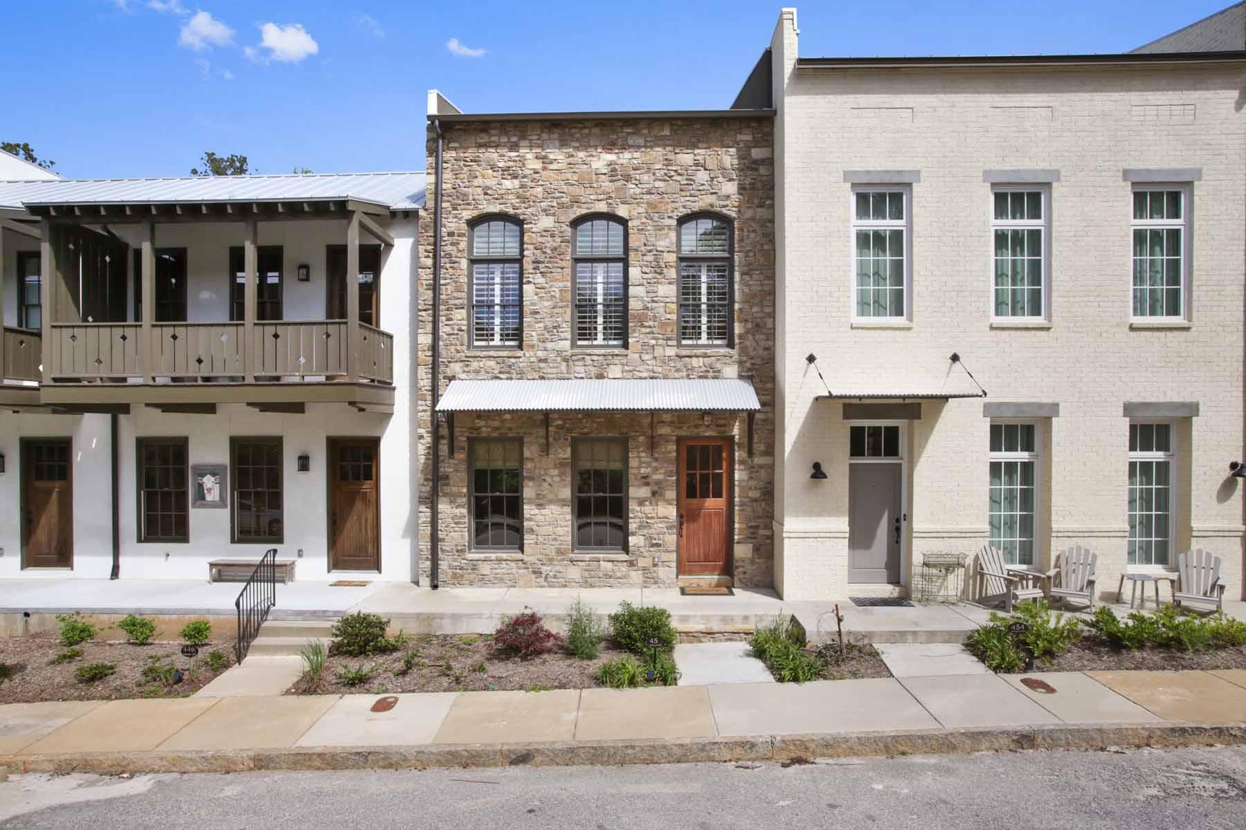 Maison accolée pour l Vente à Townhouse in the Middle of the Award-Winning Serenbe Community 450 Selborne Way Chattahoochee Hills, Georgia, 30268 États-Unis