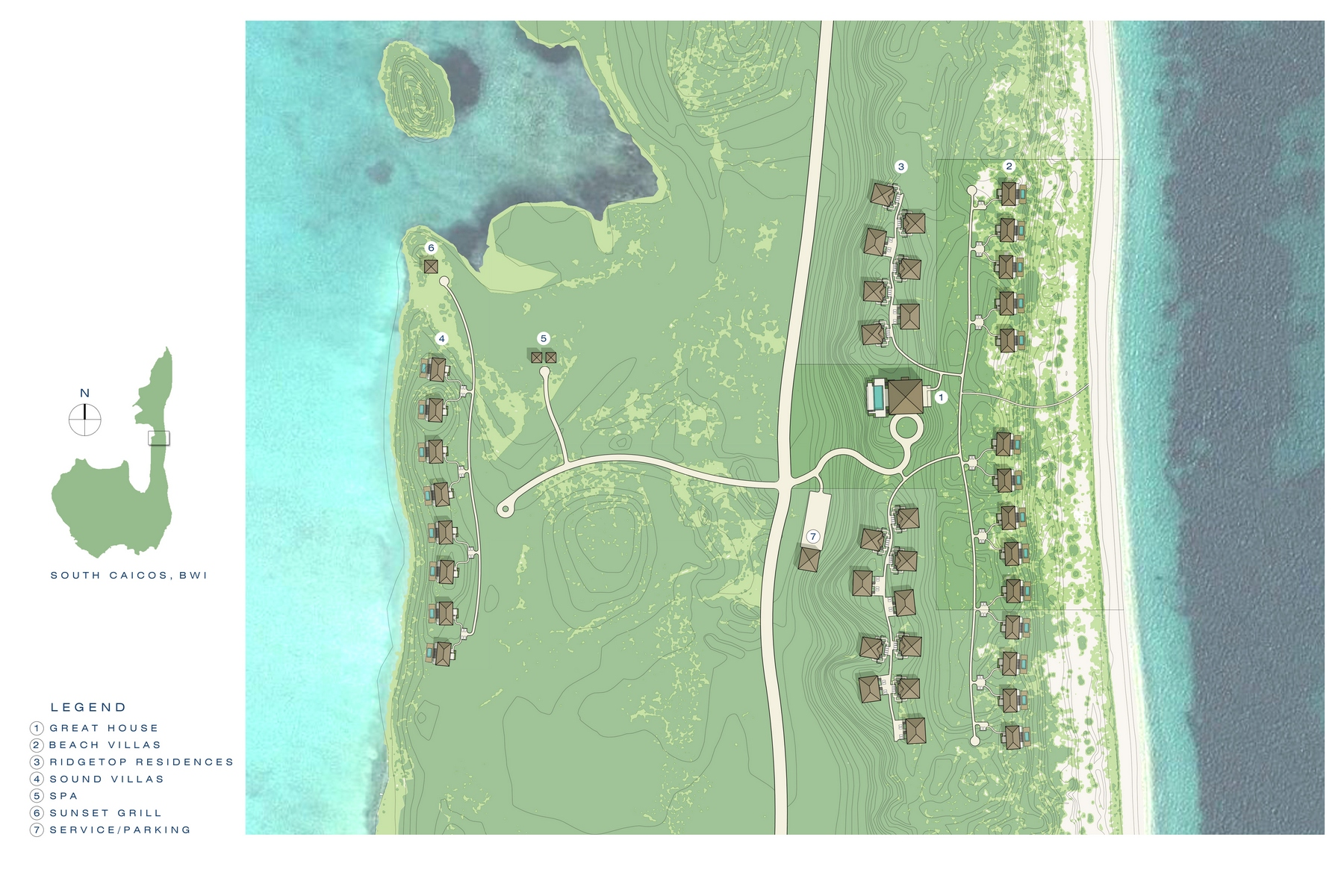 Additional photo for property listing at Ridgetop Residence 811 Sailrock, South Caicos Îles Turques Et Caïques