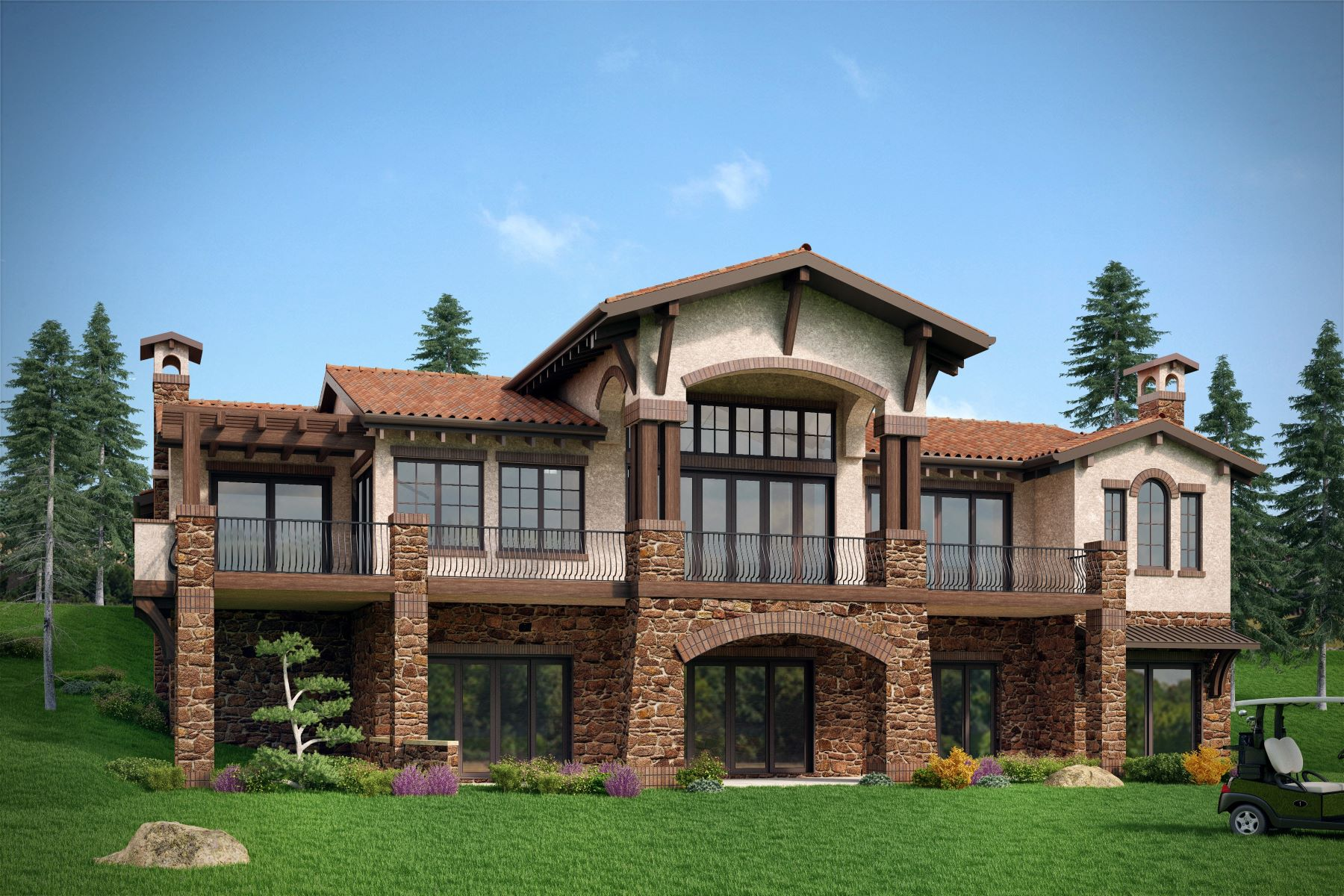 Single Family Home for Sale at Spectacular custom residence to be built by Sterling Custom Homes 7762 Raphael Ln Littleton, Colorado, 80125 United States