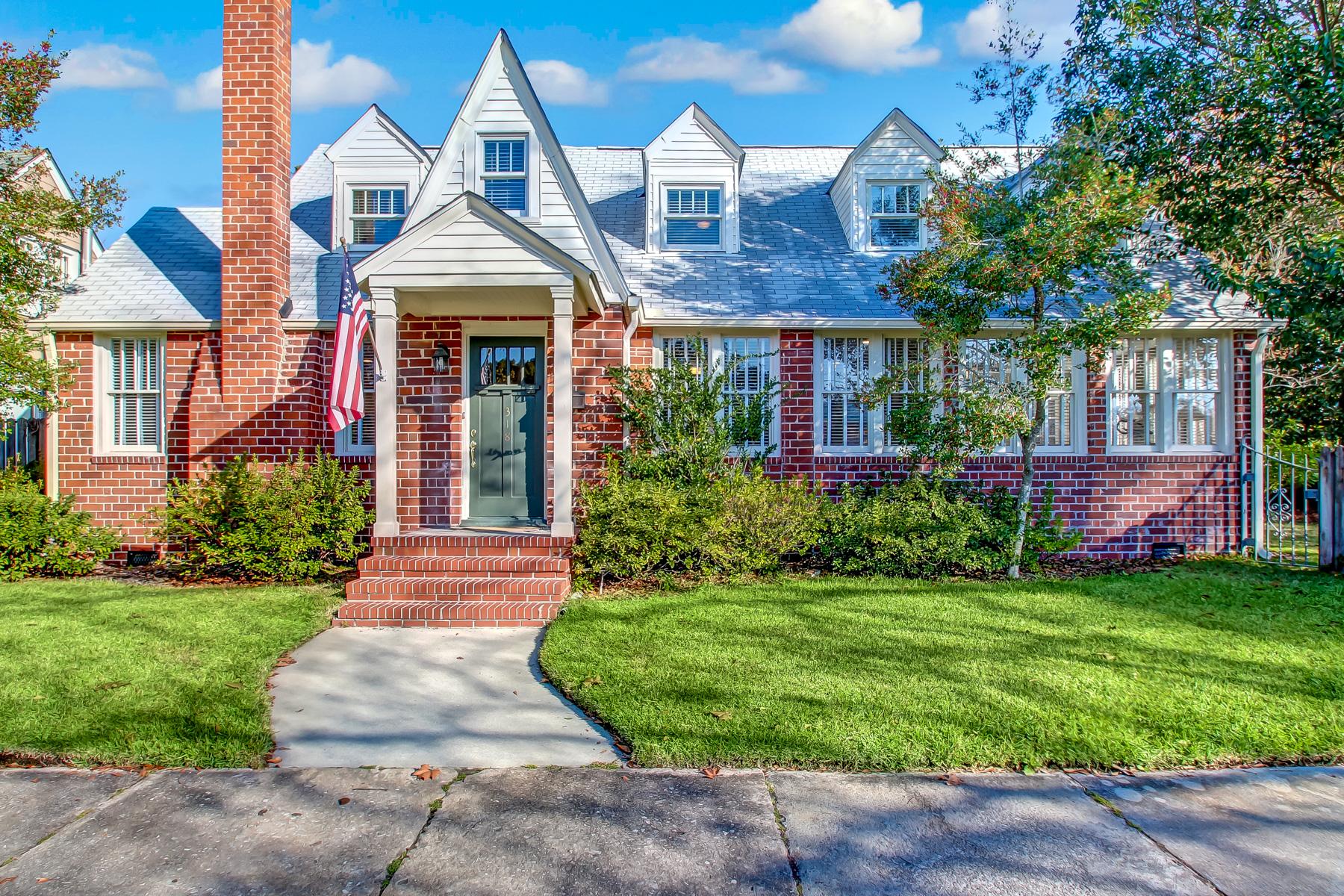 Частный односемейный дом для того Продажа на 318 East 55th Street Savannah, Джорджия, 31405 Соединенные Штаты