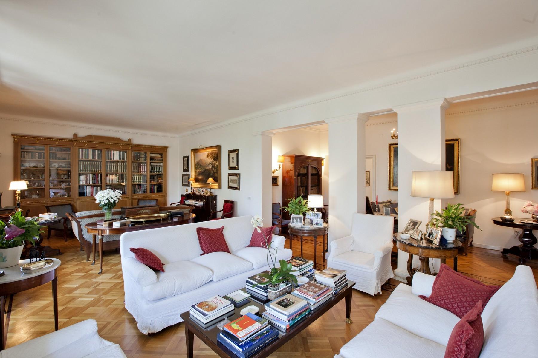 Apartment for Sale at Splendid Rome Apartment Pietro Antonio Micheli Rome, Rome, 00197 Italy