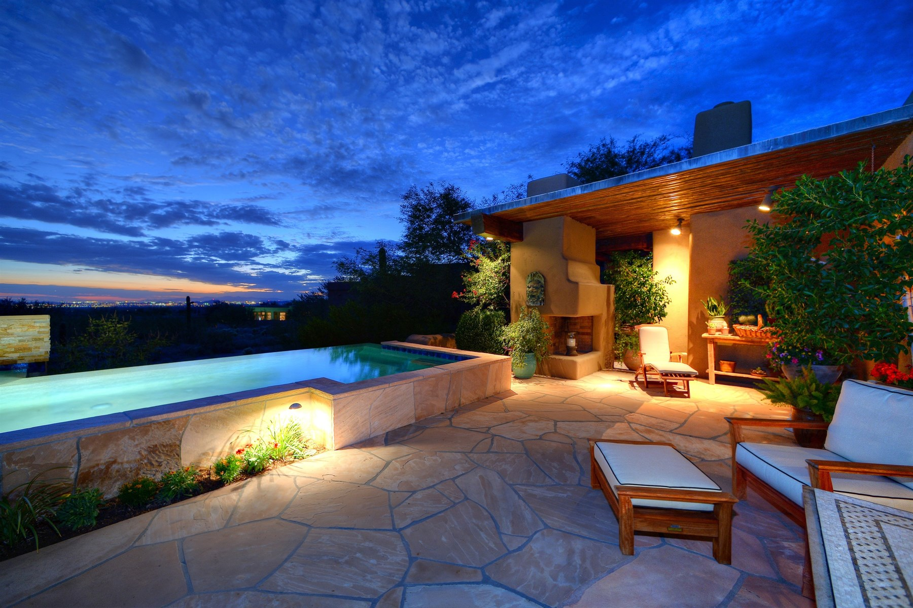 sales property at Authentic adobe design by world renowned Bill Tull