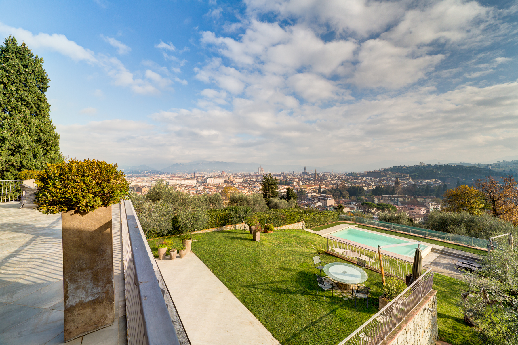 Single Family Home for Sale at A truly unique villa with views over Florence Bellosguardo Firenze, 50122 Italy