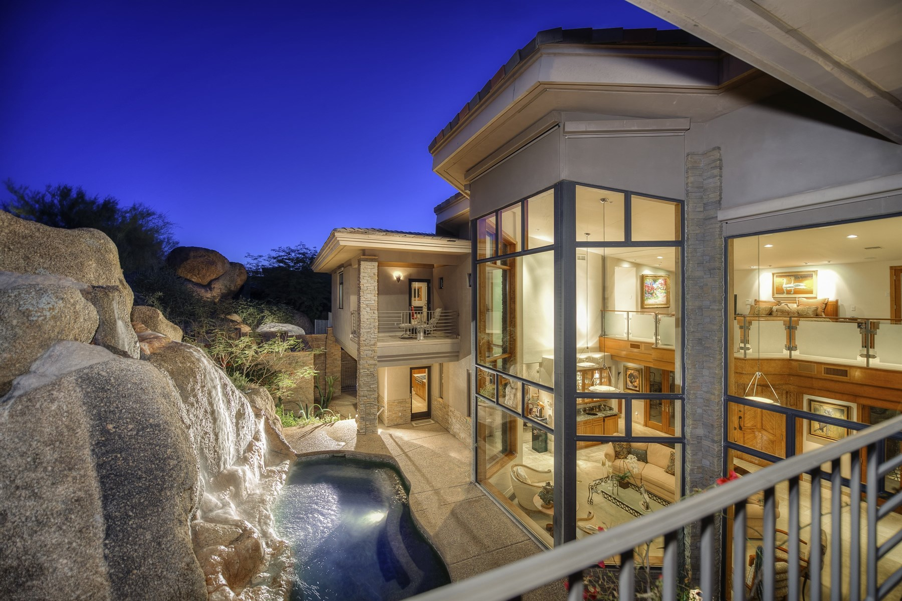 Vivienda unifamiliar por un Venta en Hillside Masterpiece in Estancia 27771 N 103rd Place Scottsdale, Arizona, 85262 Estados Unidos
