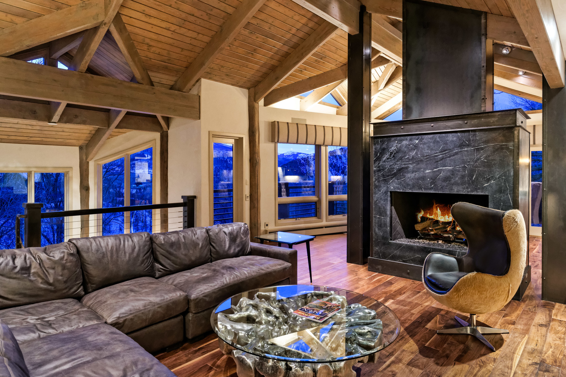 Single Family Home for Sale at Red Mountain Retreat 153 Herron Hollow Road, Red Mountain, Aspen, Colorado, 81611 United States