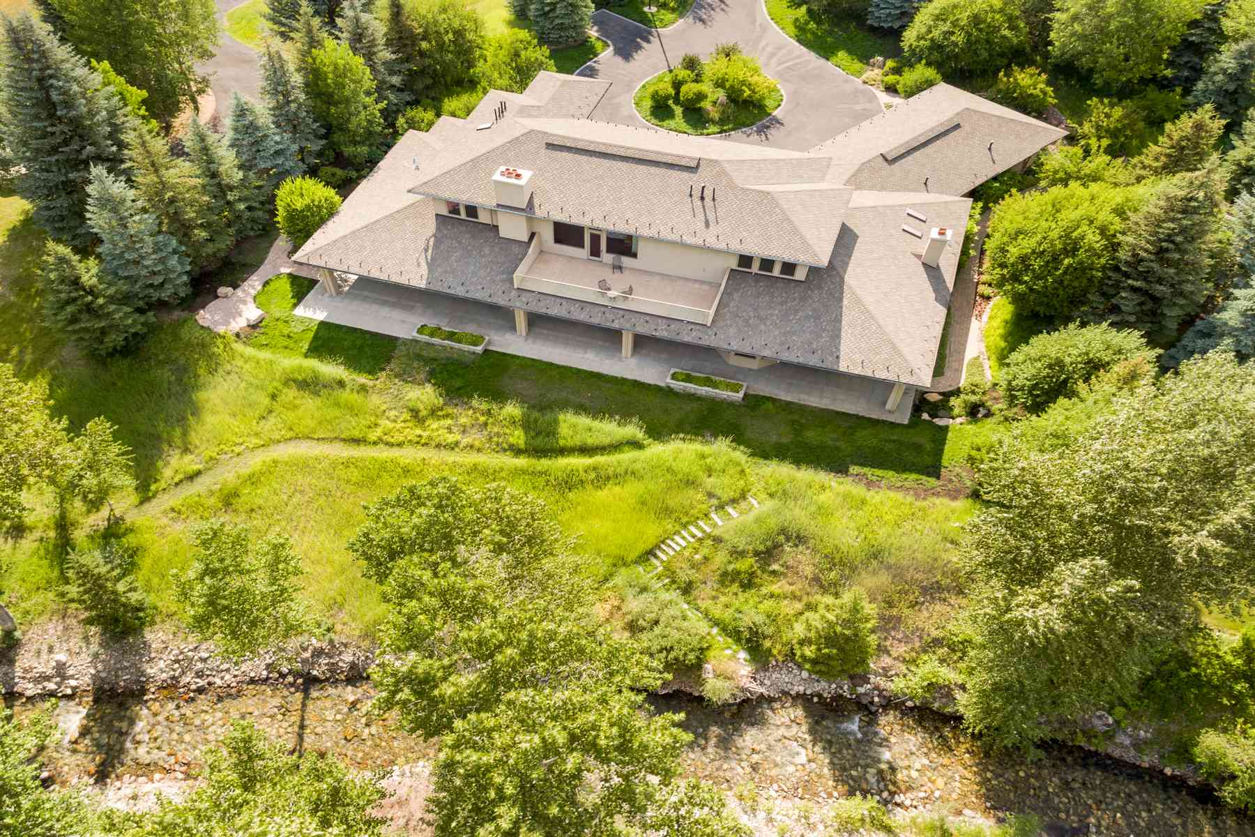 Single Family Home for Sale at One of a kind Contemporary Home 205 Canyon Road Sun Valley, Idaho 83353 United States