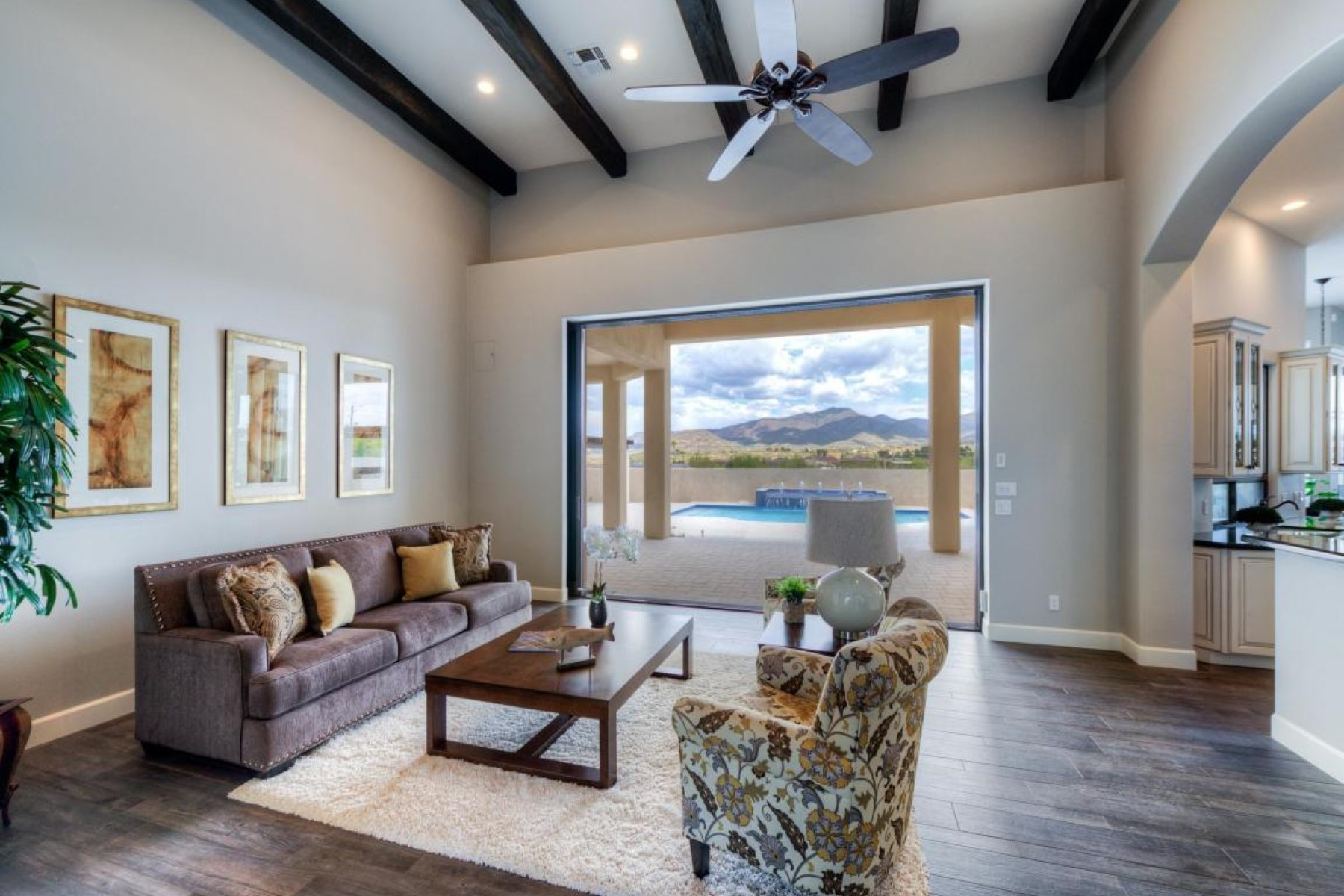 Single Family Home for Sale at Charming contemporary home with 360 degree views 7658 E Nonchalant Avenue Carefree, Arizona, 85377 United States