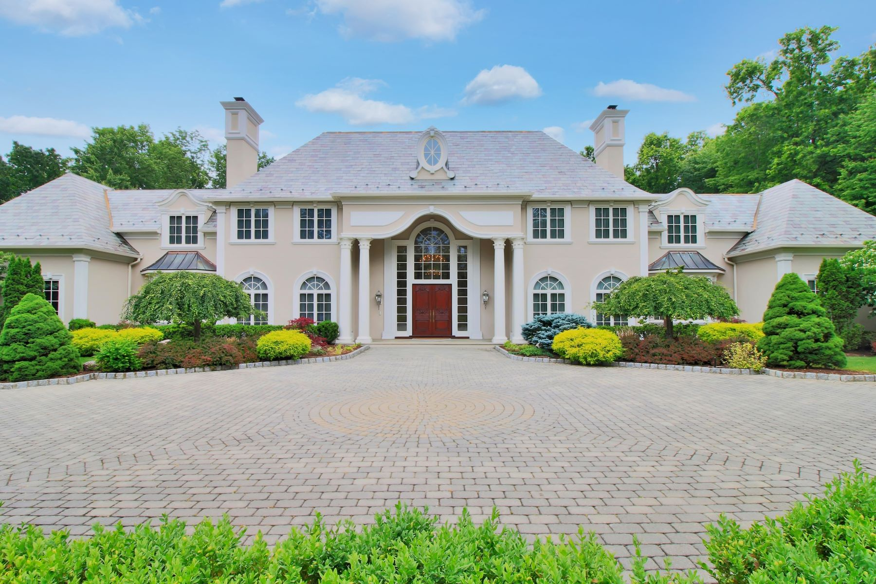 Single Family Home for Sale at Breathtaking! 33 Cameron Road Saddle River, New Jersey 07458 United States