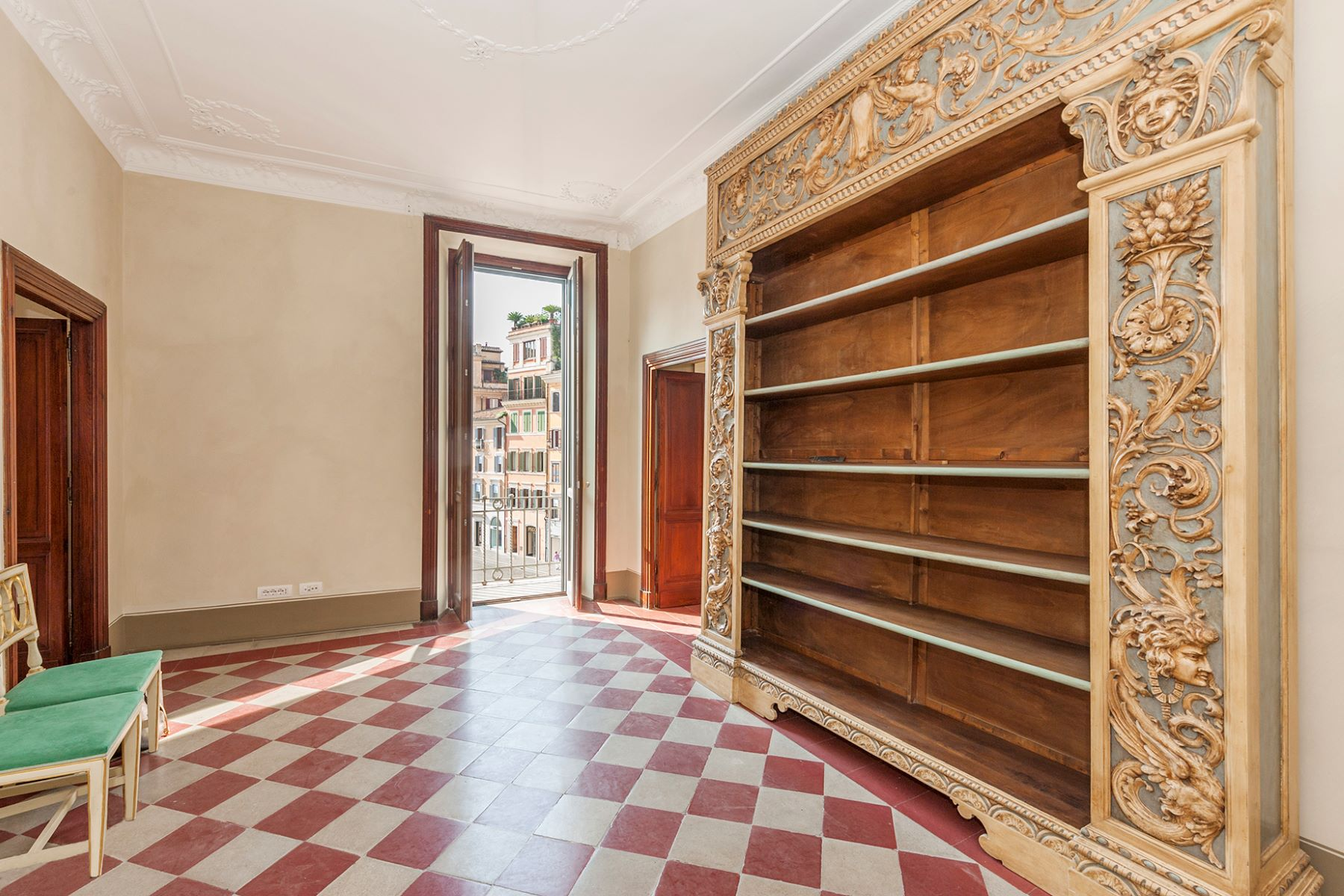 Apartment for Rent at Magnificent apartment overlooking Piazza di Spagna Rome, Rome Italy