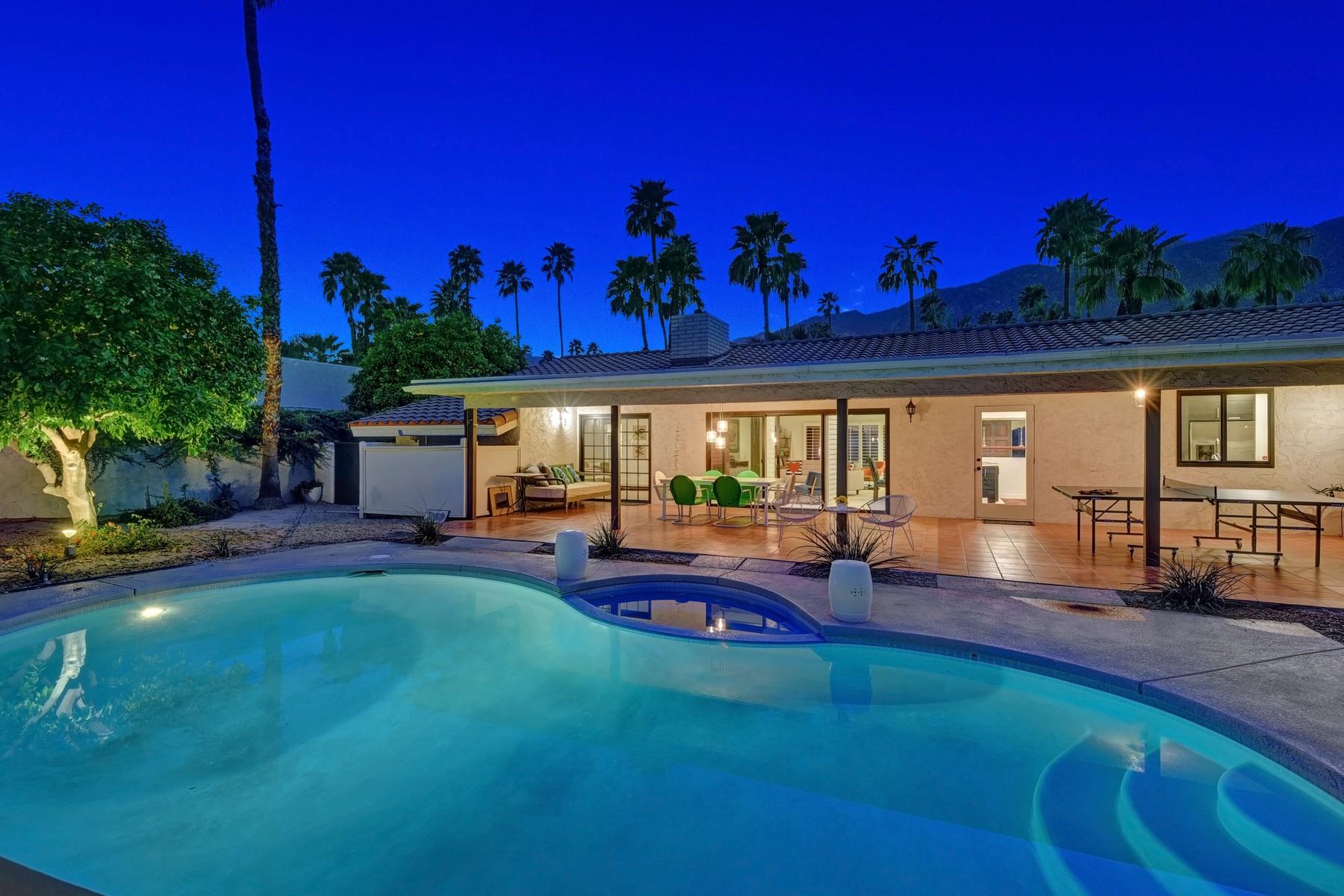 Maison unifamiliale pour l Vente à 1970 South Joshua Tree Place Palm Springs, Californie, 92264 États-Unis