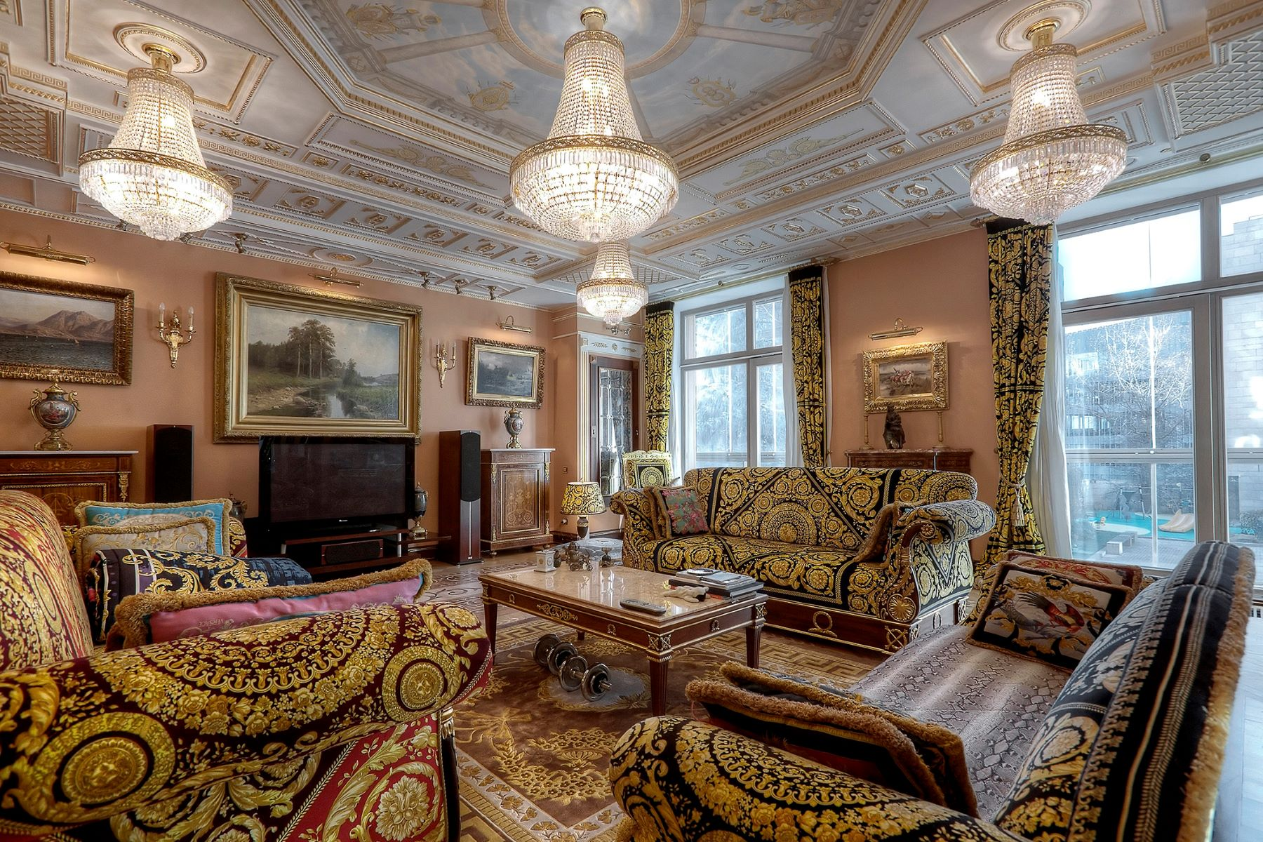 Single Family Home for Sale at The magnificent apartment in Butikovsky Lane Moscow, Moscow City, Russia