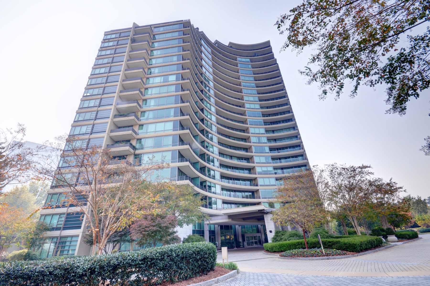 Condominium for Sale at Beautiful Corner Unit at Park Regency located in the heart of Buckhead 700 Park Regency Place NE #1706 Atlanta, Georgia, 30326 United States