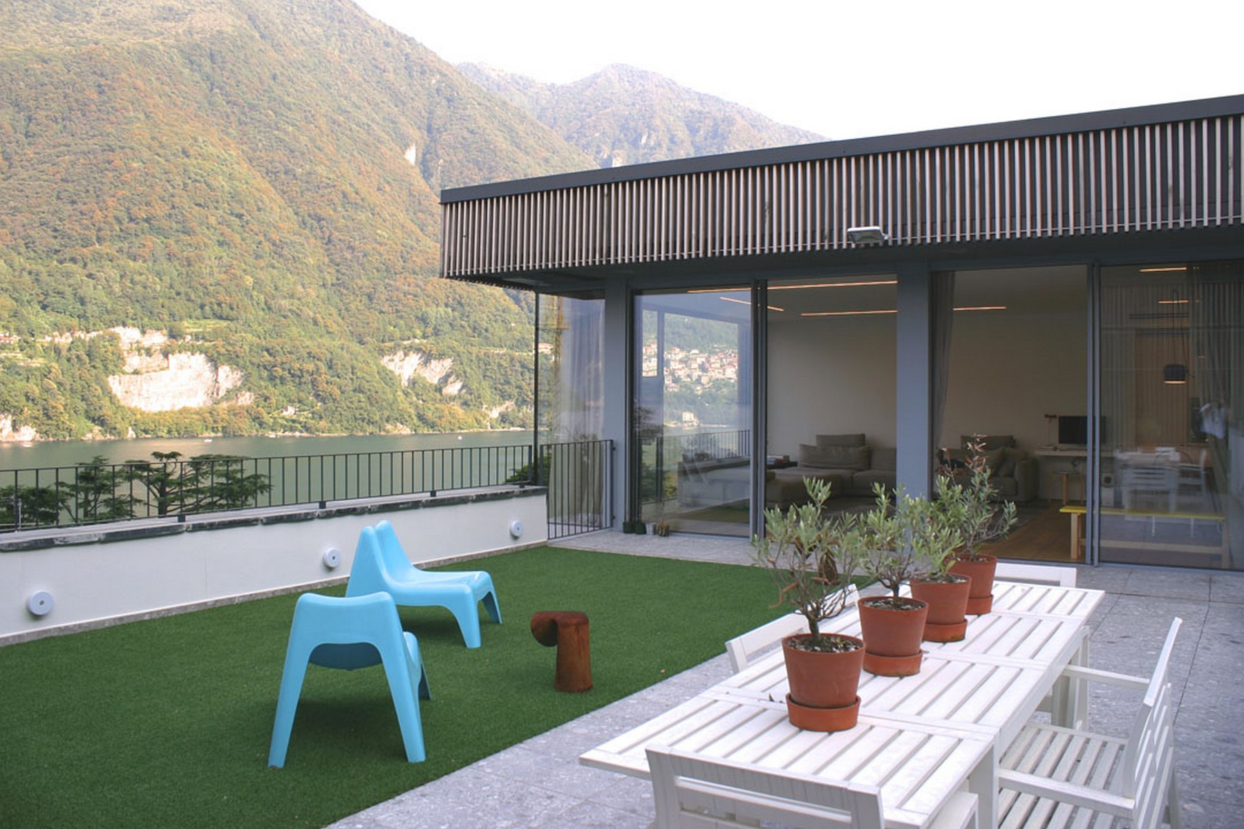 Additional photo for property listing at Prestigious newly built apartment Laglio Laglio, Como 22010 Italie