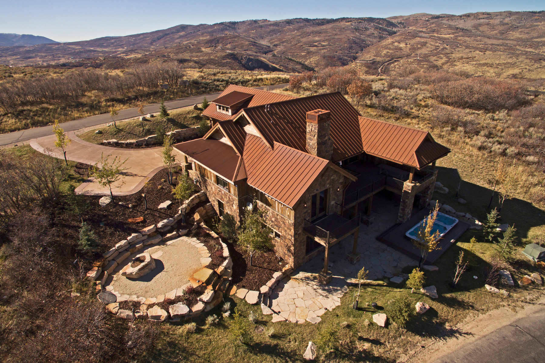 Single Family Home for Sale at Promontory Trophy Home! 9492 Dye Cabins Drive Park City, Utah, 84098 United States