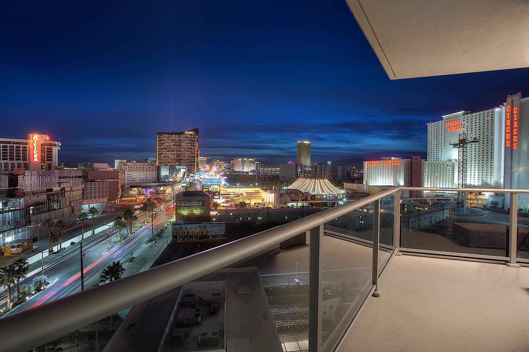 Кондоминиум для того Продажа на 2700 S Las Vegas Blvd #909 Las Vegas, Невада, 89109 Соединенные Штаты