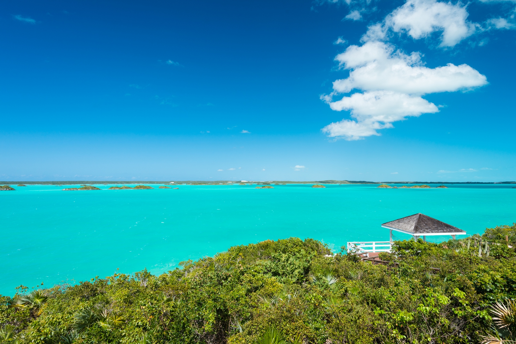 Single Family Home for Sale at Aqua View Villa Waterfront Chalk Sound, TCI Turks And Caicos Islands