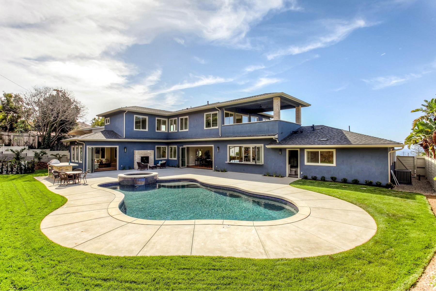 Частный односемейный дом для того Продажа на 6645 Avenida De Las Pescas La Jolla, Калифорния 92037 Соединенные Штаты