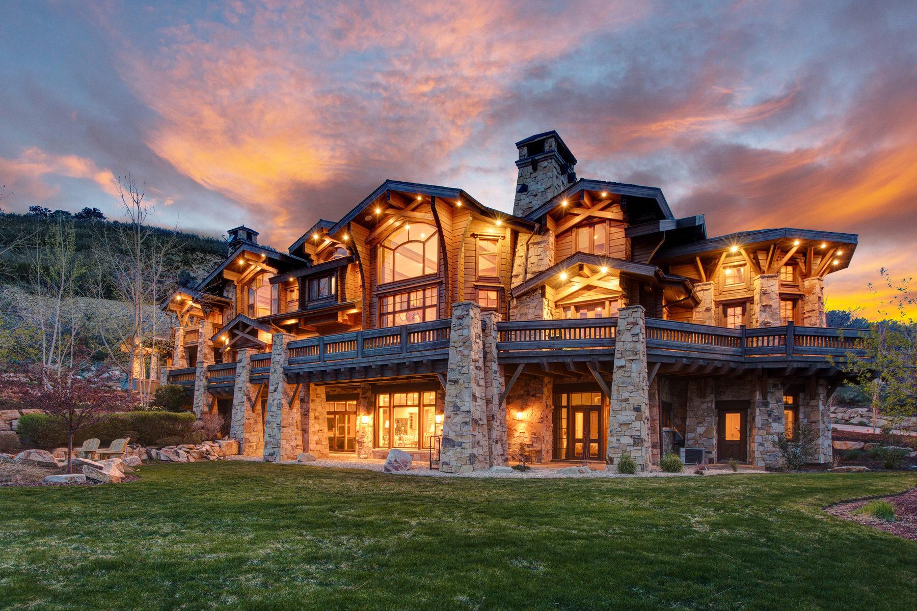 Einfamilienhaus für Verkauf beim Spectacular Park Meadows 9+ Acre Estate 23 Sandstone Cv Park City, Utah, 84060 Vereinigte Staaten