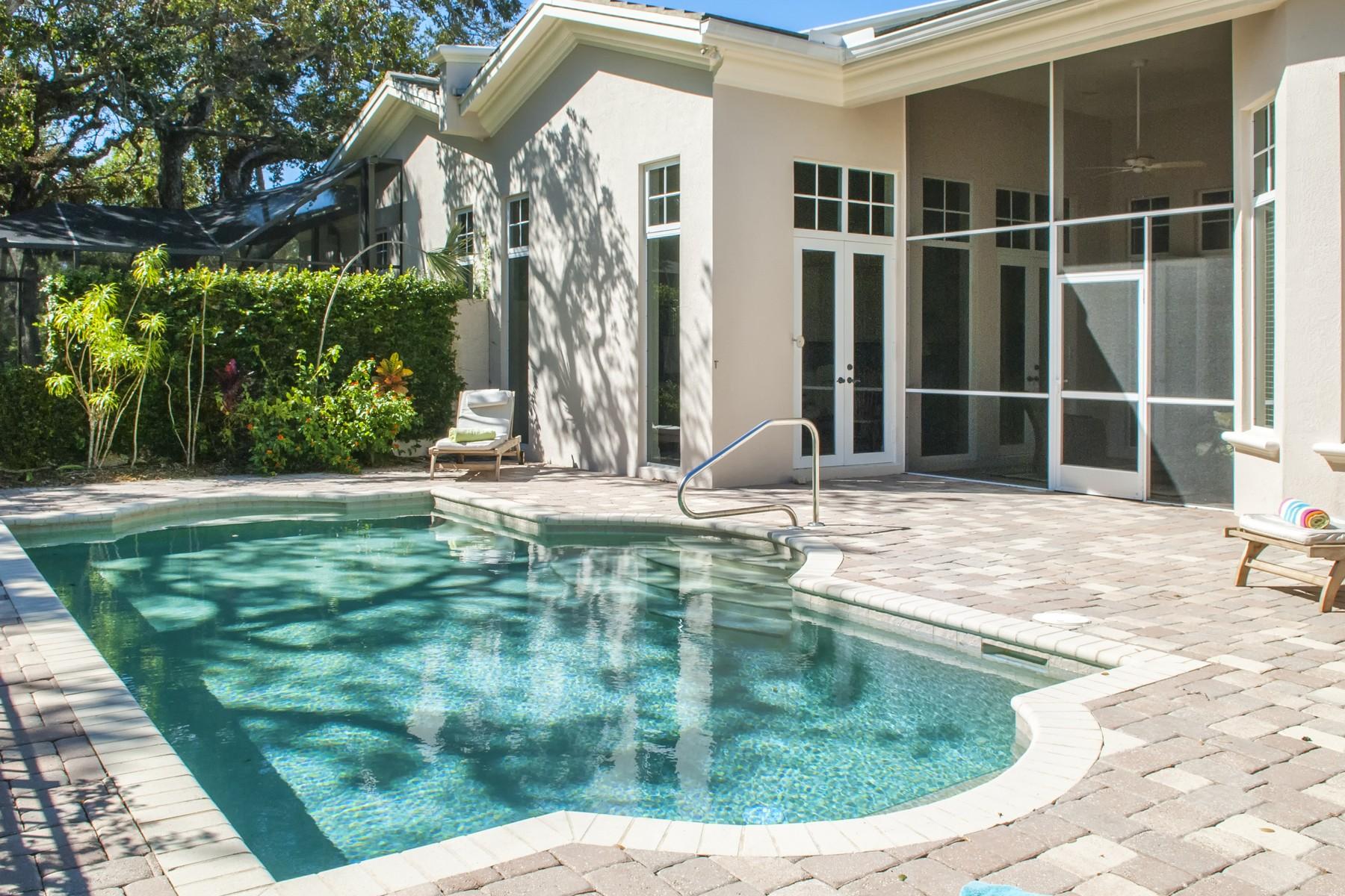 Casa para uma família para Venda às River Club at Carlton 1628 Weybridge Circle Indian River Shores, Florida, 32963 Estados Unidos