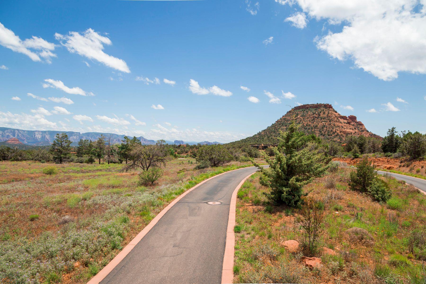 토지 용 매매 에 Expansive Sedona Views 335 Aerie Rd Sedona, 아리조나, 86336 미국