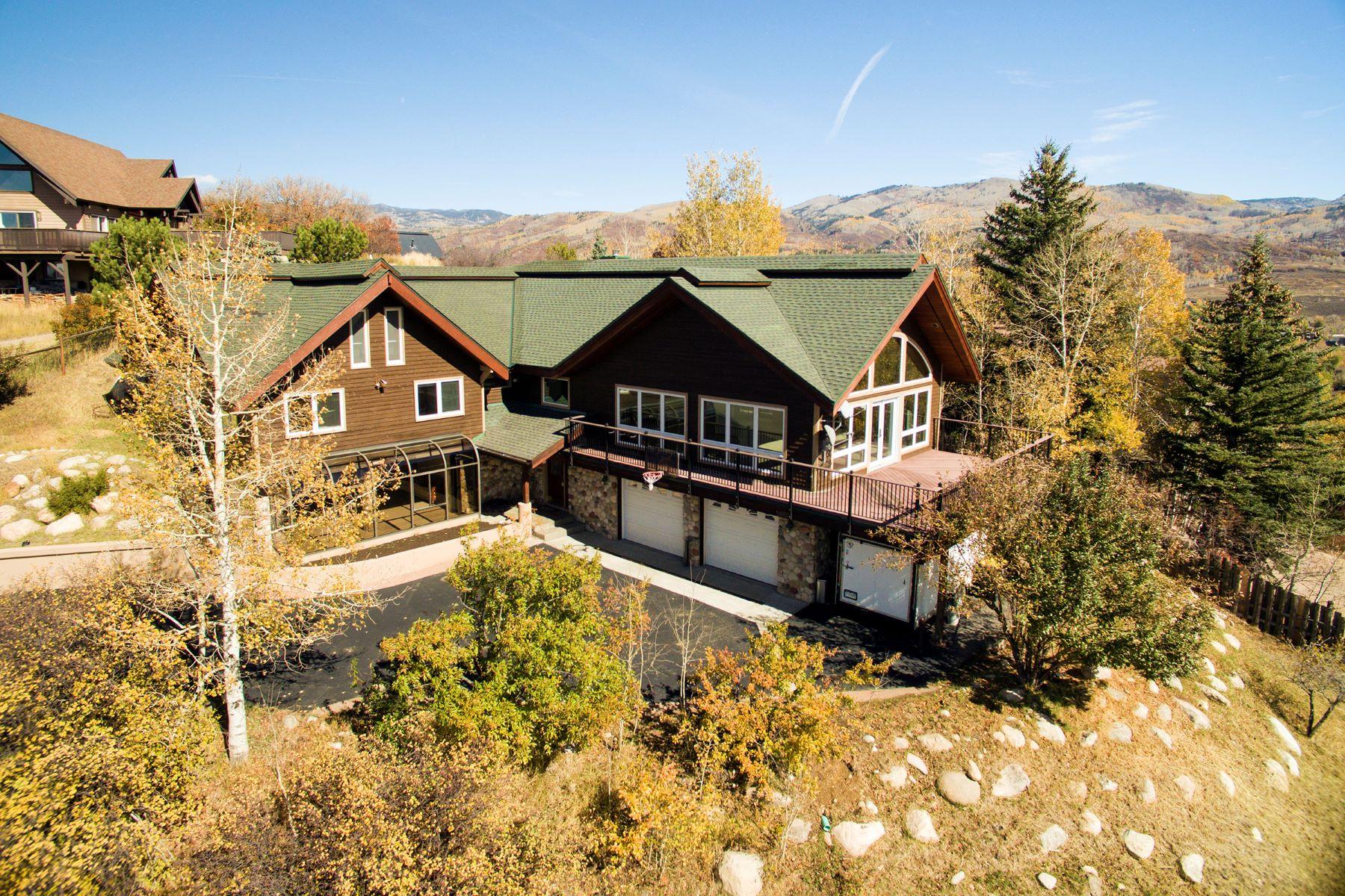 Einfamilienhaus für Verkauf beim Downtown View Home 1260 Buckskin Drive Steamboat Springs, Colorado, 80487 Vereinigte Staaten