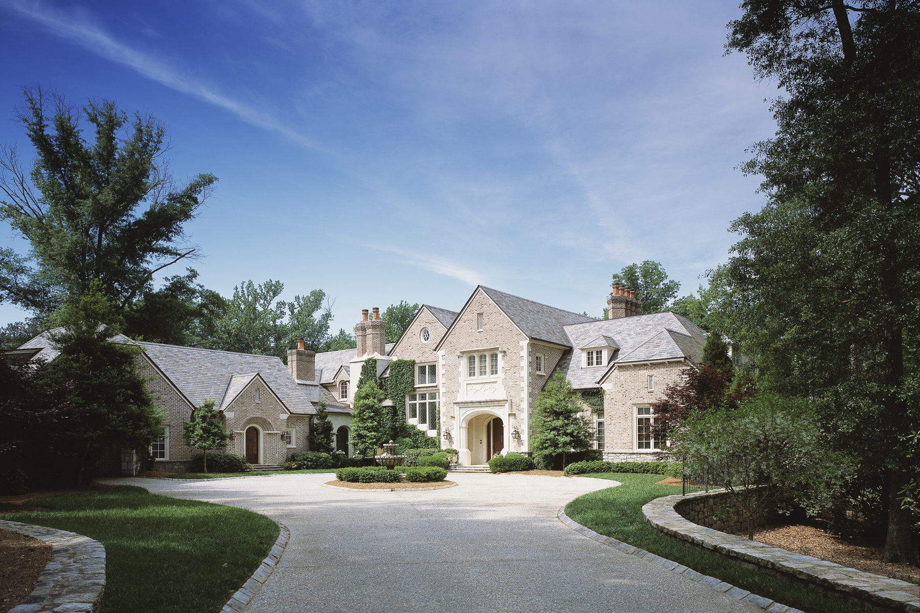 Single Family Home for Active at An Award Winning Tudor In Buckhead 2032 W Paces Ferry Road Atlanta, Georgia 30327 United States
