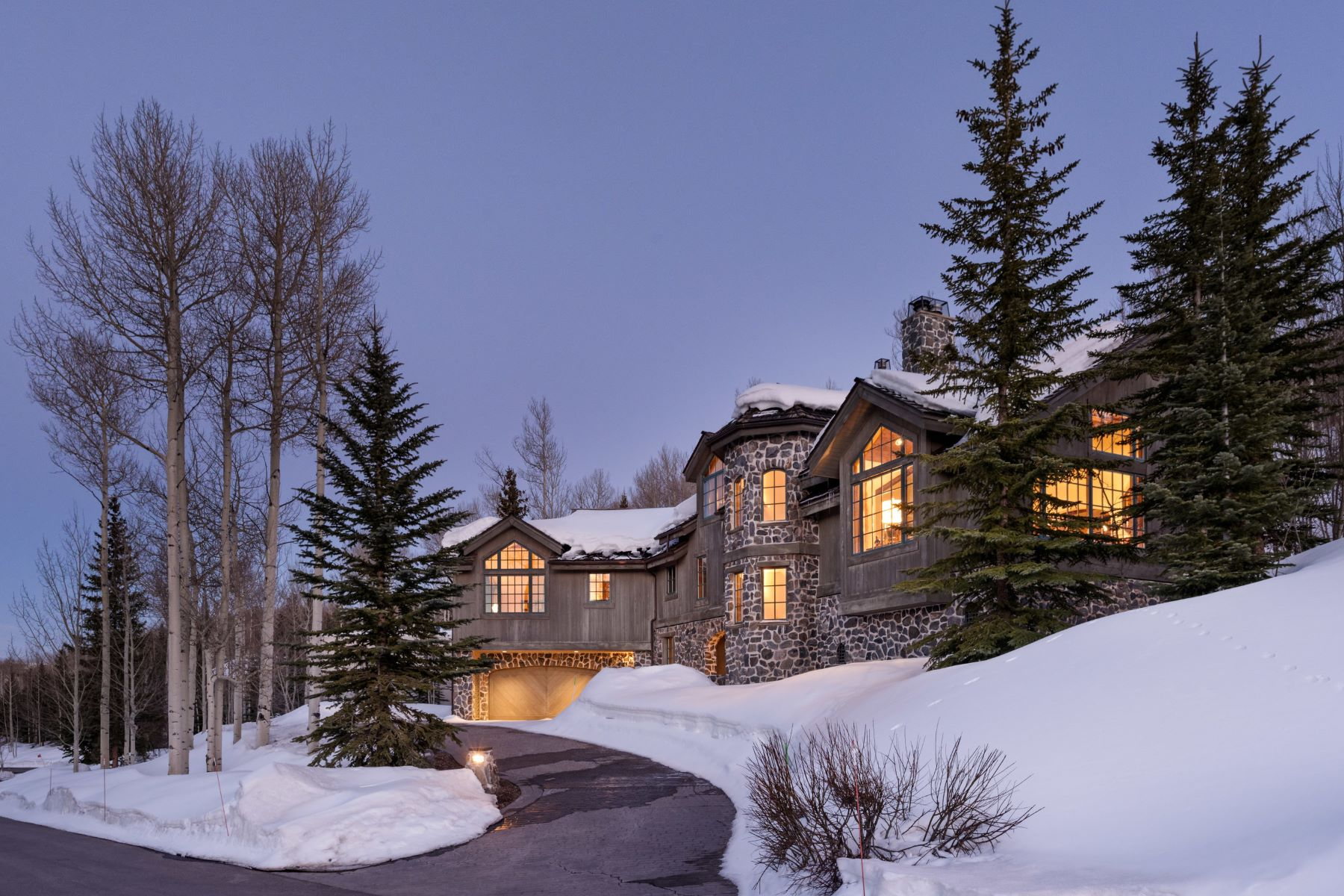 Maison unifamiliale pour l Vente à In The Divide 143 Aspen Way Snowmass Village, Colorado, 81615 États-Unis