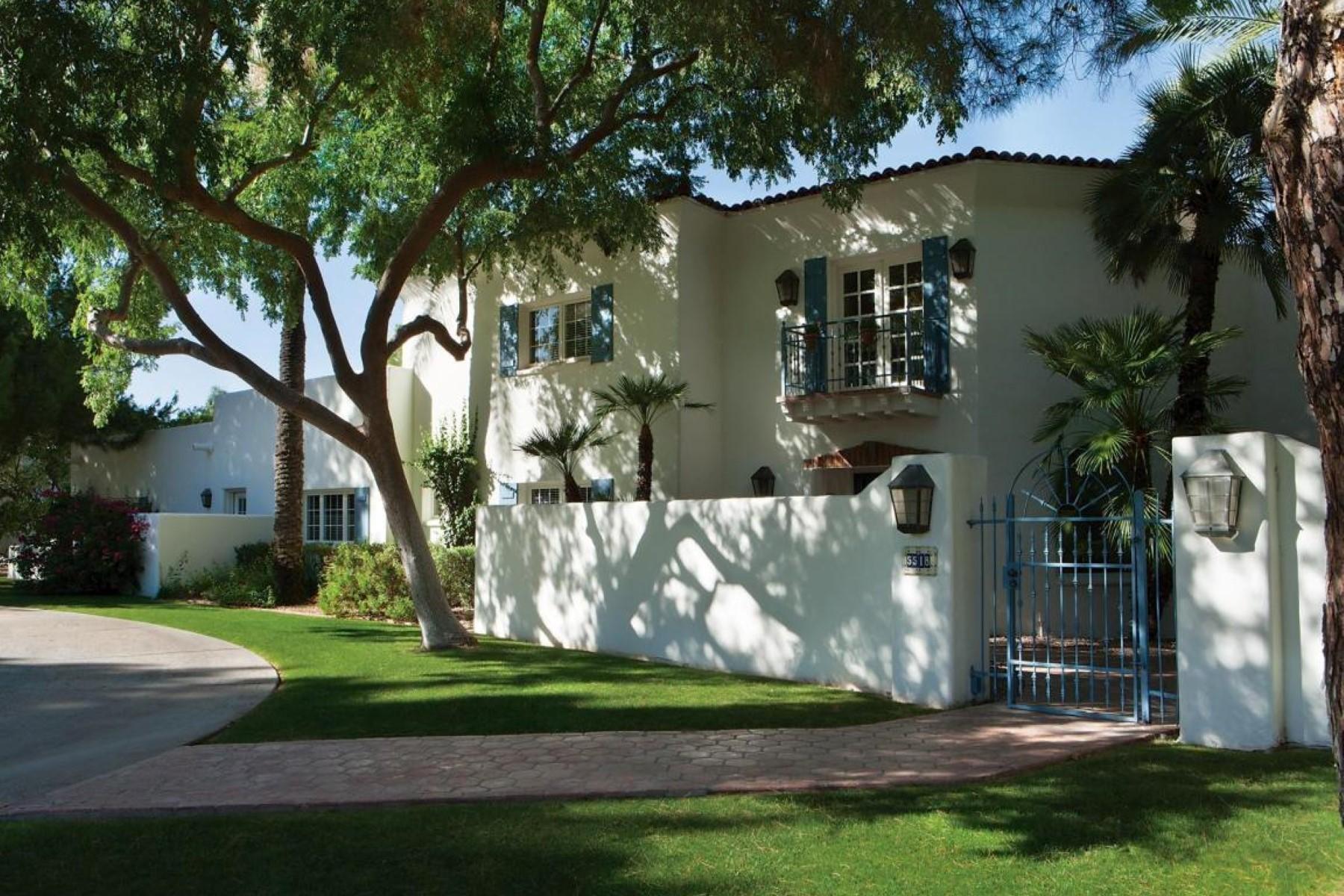 獨棟家庭住宅 為 出售 在 Romantically inspired Santa Barbara architecture 5518 E Sanna St Paradise Valley, 亞利桑那州, 85253 美國