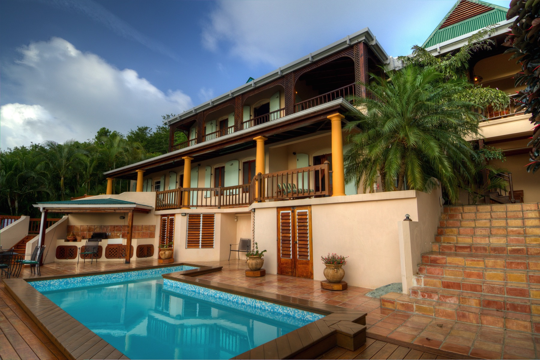 واحد منزل الأسرة للـ Sale في Shannon Manor Shannon, Tortola British Virgin Islands