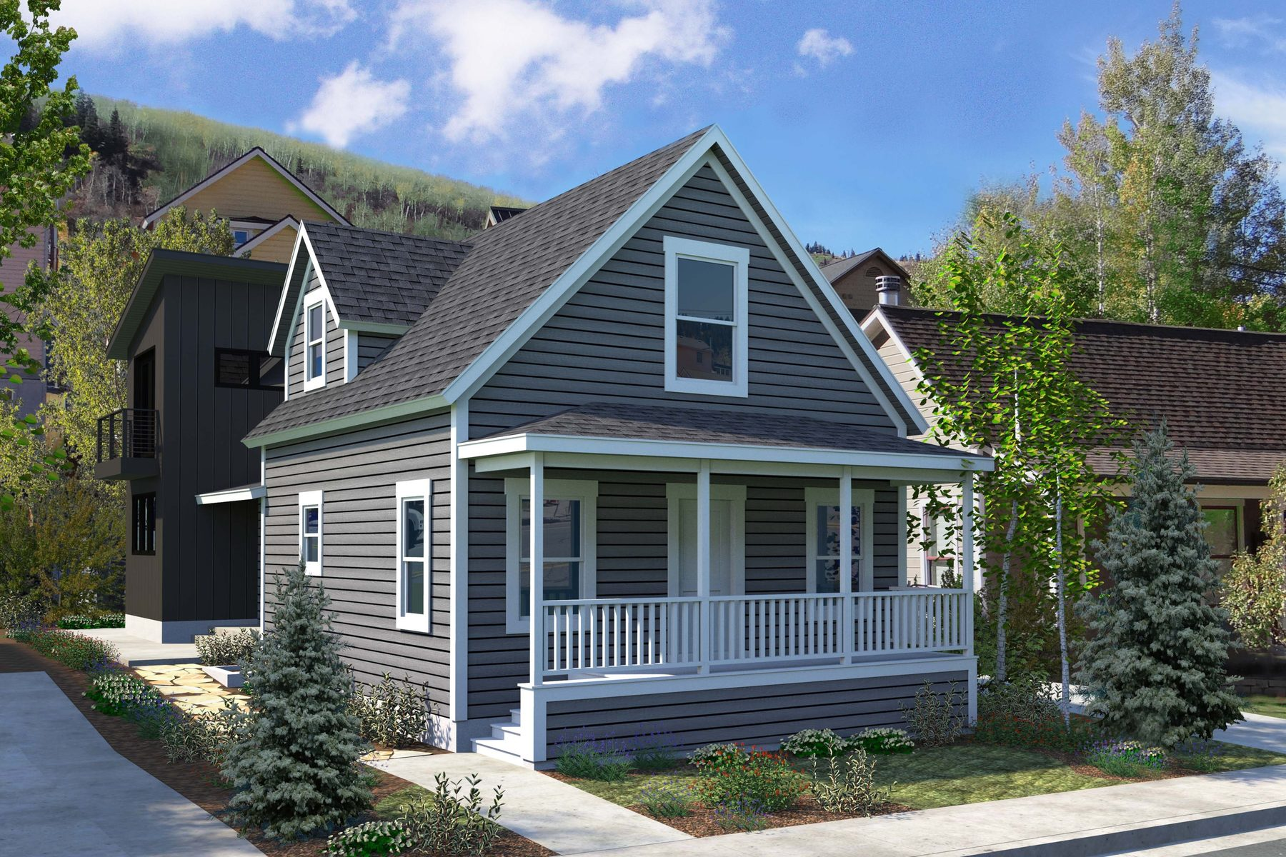 Single Family Home for Sale at Custom Home in the Heart of Park City 923 Park Ave Park City, Utah, 84060 United States