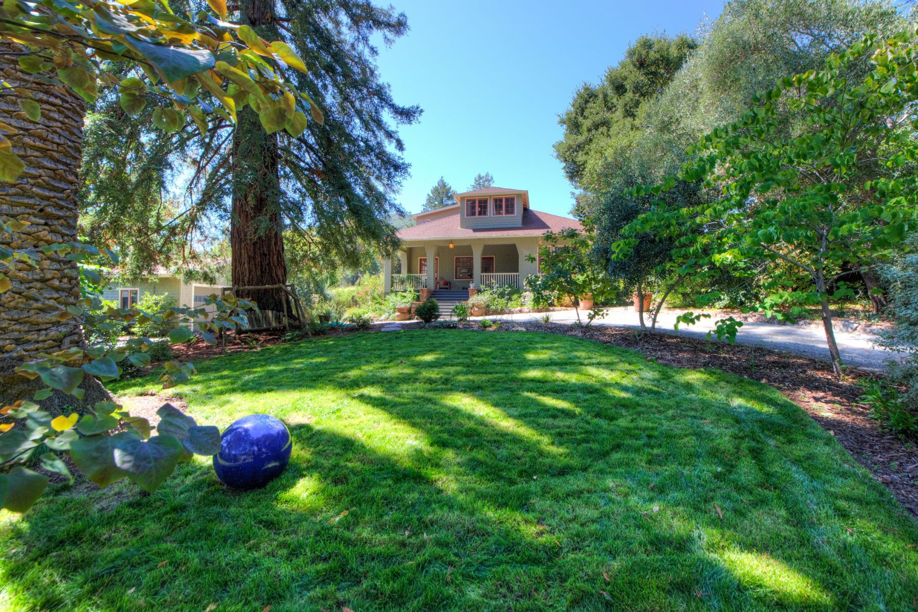 Single Family Home for Sale at A Hidden Treasure 256 Crescent Road San Anselmo, California 94960 United States