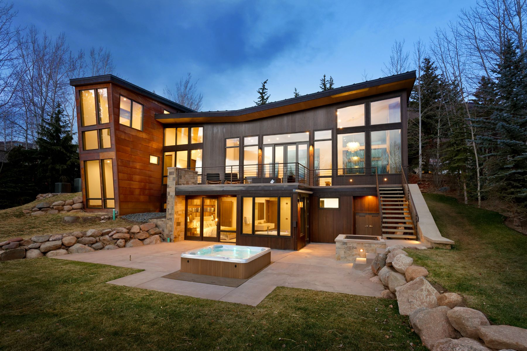 Villa per Vendita alle ore Brand New on Red Mountain 62 Bennett Court Red Mountain, Aspen, Colorado, 81611 Stati Uniti