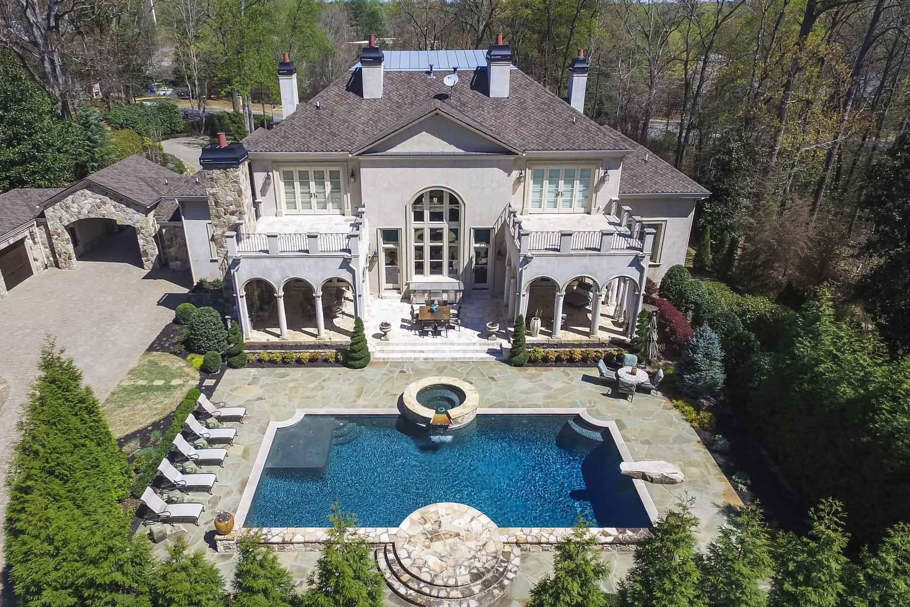 sales property at An Exceptional Buckhead Retreat