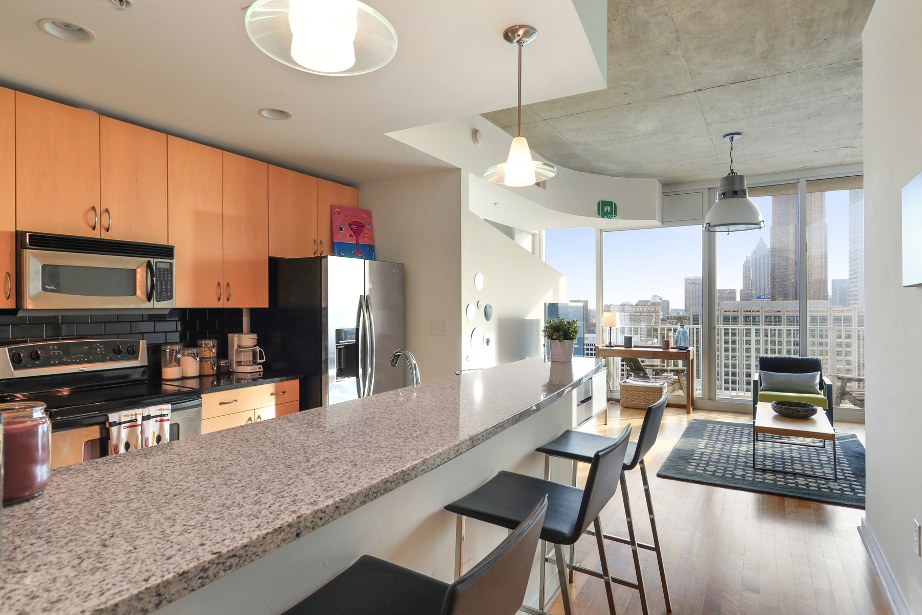 rentals property at City Living With A View