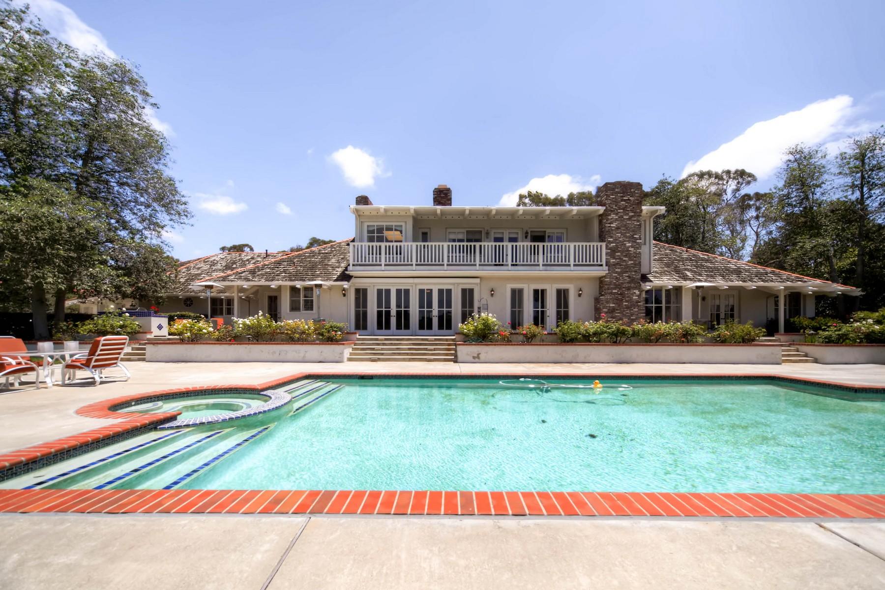 Частный односемейный дом для того Продажа на 5720 Lago Lindo Rancho Santa Fe, Калифорния 92067 Соединенные Штаты