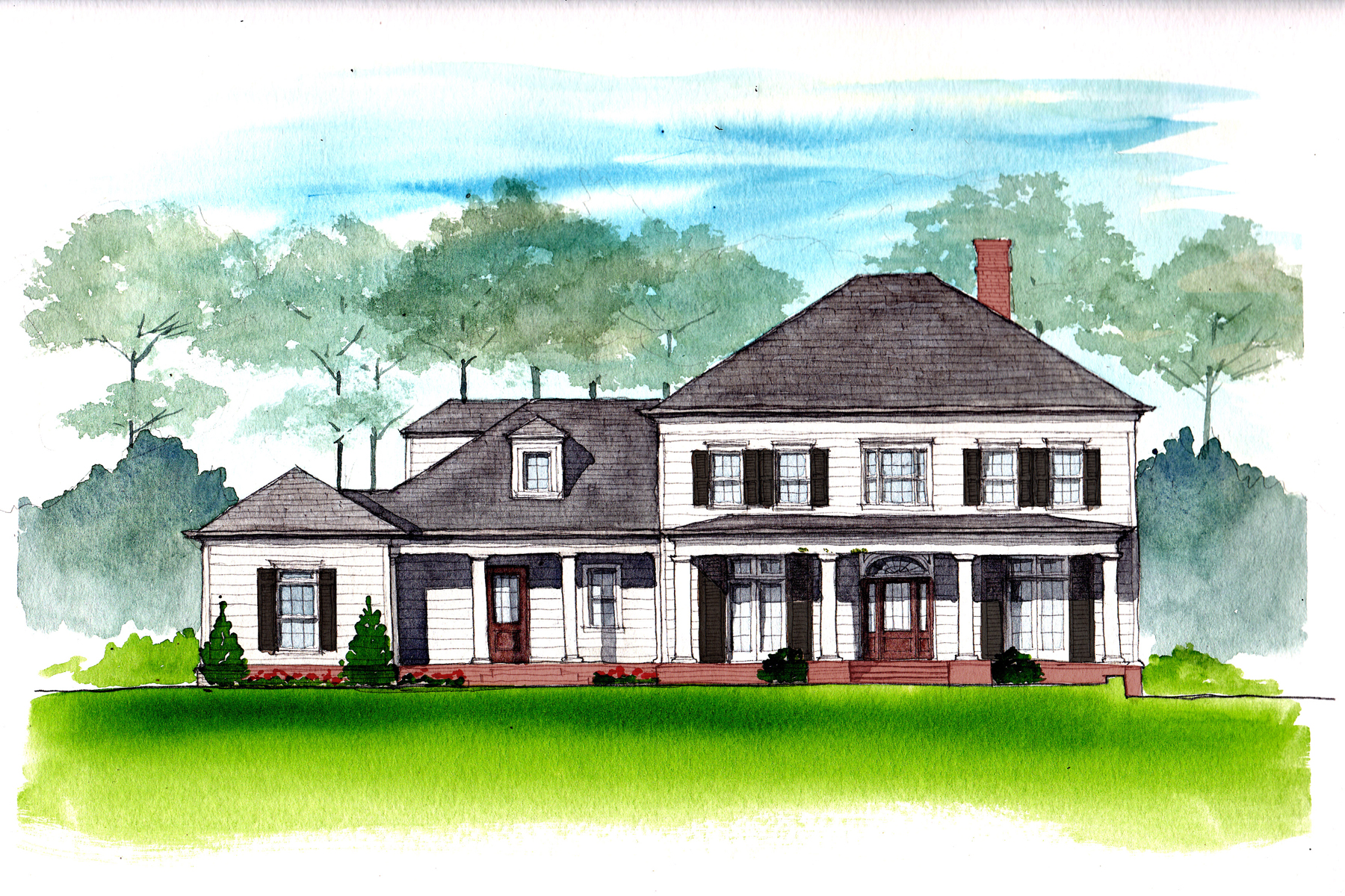 Villa per Vendita alle ore New Construction In Sandy Springs 751 Spalding Drive Sandy Springs, Georgia, 30328 Stati Uniti