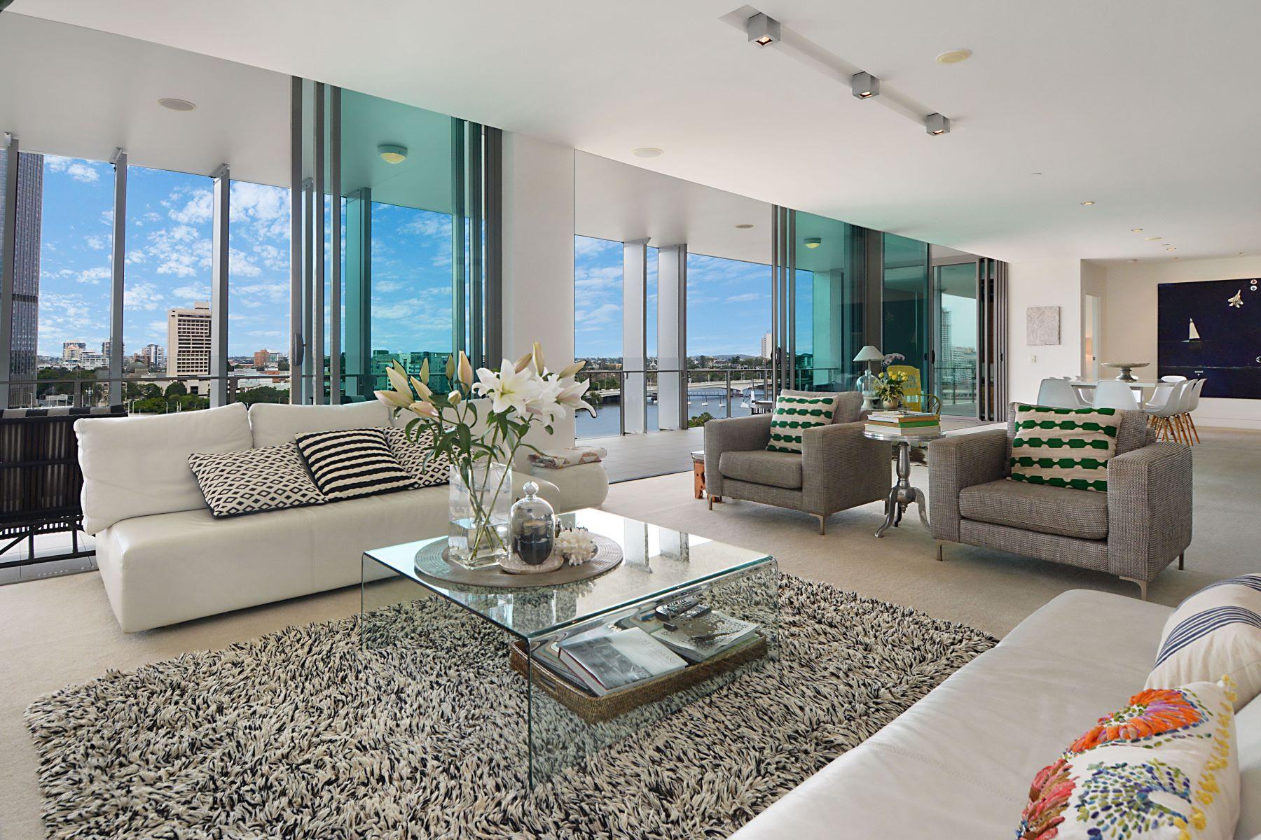 公寓 為 出售 在 Saville Apartments 1305/161 Grey Street Brisbane, Queensland, 4101 澳大利亞