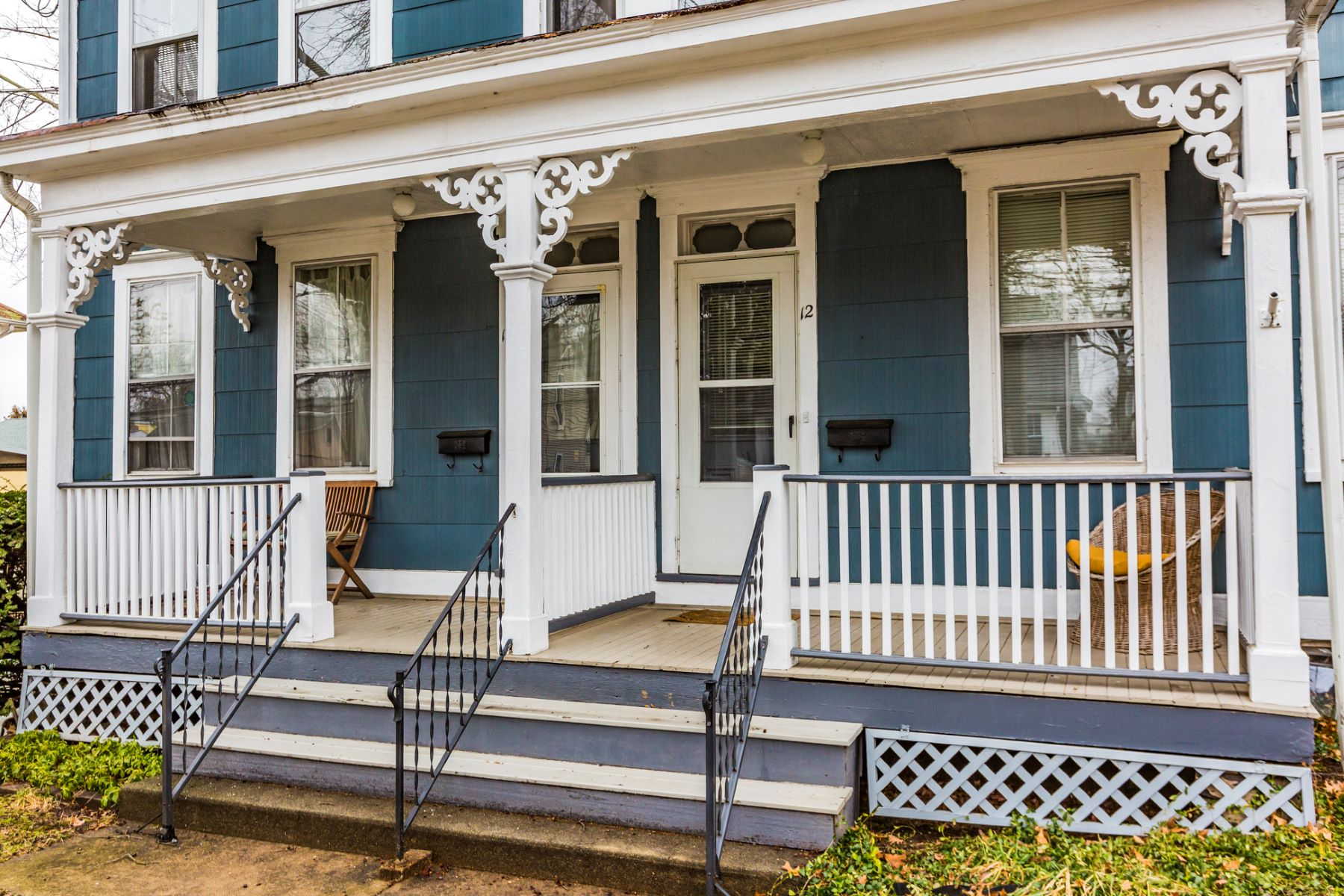 Duplex for Sale at A Terrific In-Town Lifestyle With Income 10-12 Princeton Avenue Hopewell, New Jersey, 08525 United States