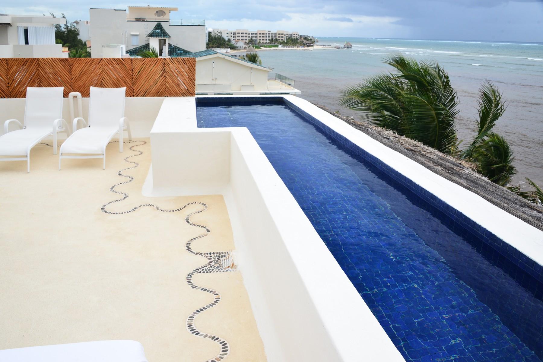 Apartment for Sale at SEAFRONT PARADISE PENTHOUSE Seafront Paradise Penthouse Predio Maria Irene, Supermzna 12, Mzna 21 13 Puerto Morelos, 77930 Mexico
