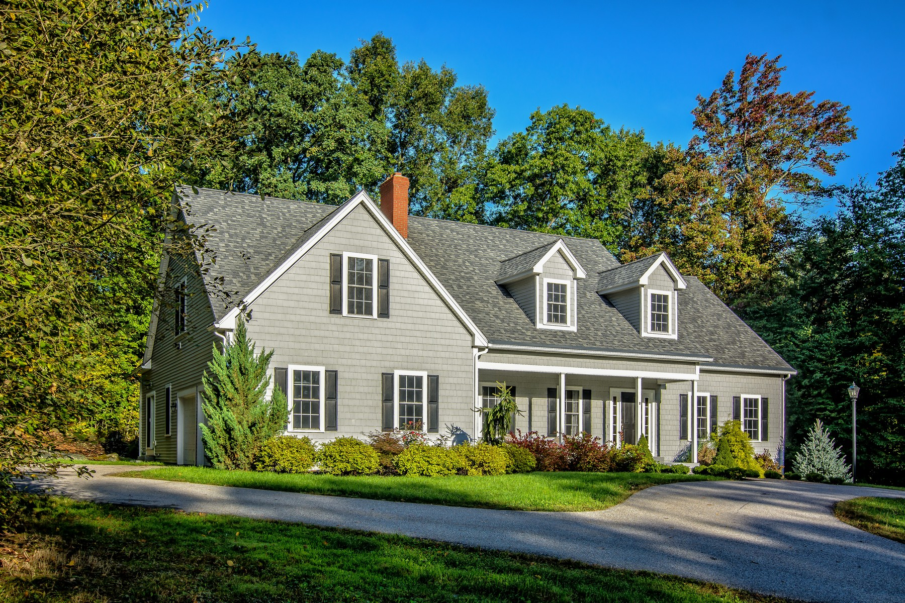 Single Family Home for Sale at Serene and Private Custom-Built Colonial 2 High Street Millbury, Massachusetts 01527 United States