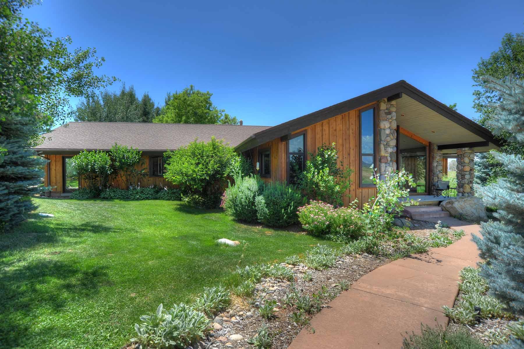 Частный односемейный дом для того Продажа на Flying Buffalo Ranch 908 CR 520 Bayfield, Колорадо, 81122 Соединенные Штаты
