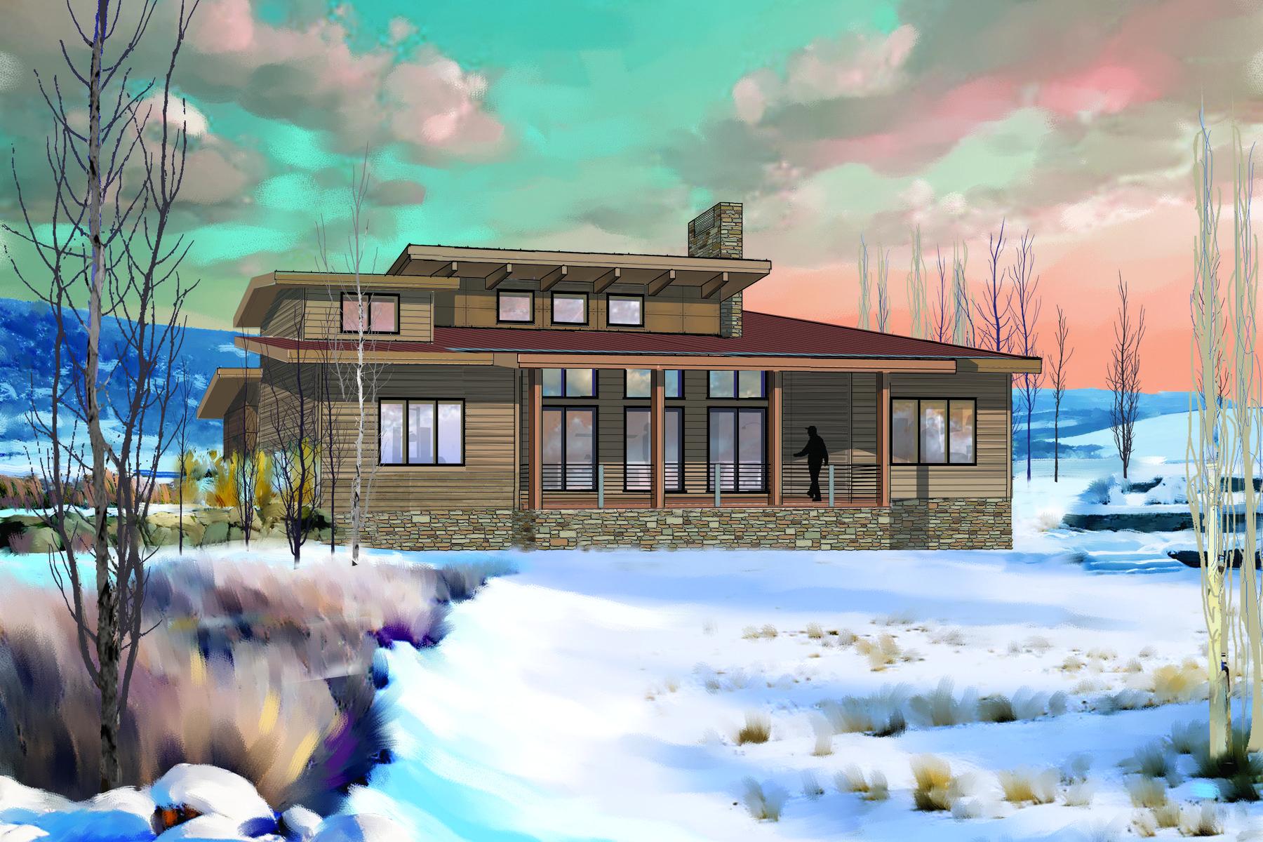 Casa para uma família para Venda às New Nicklaus Golf Cabin Promontory 6634 Golden Bear Loop West Park City, Utah, 84098 Estados Unidos