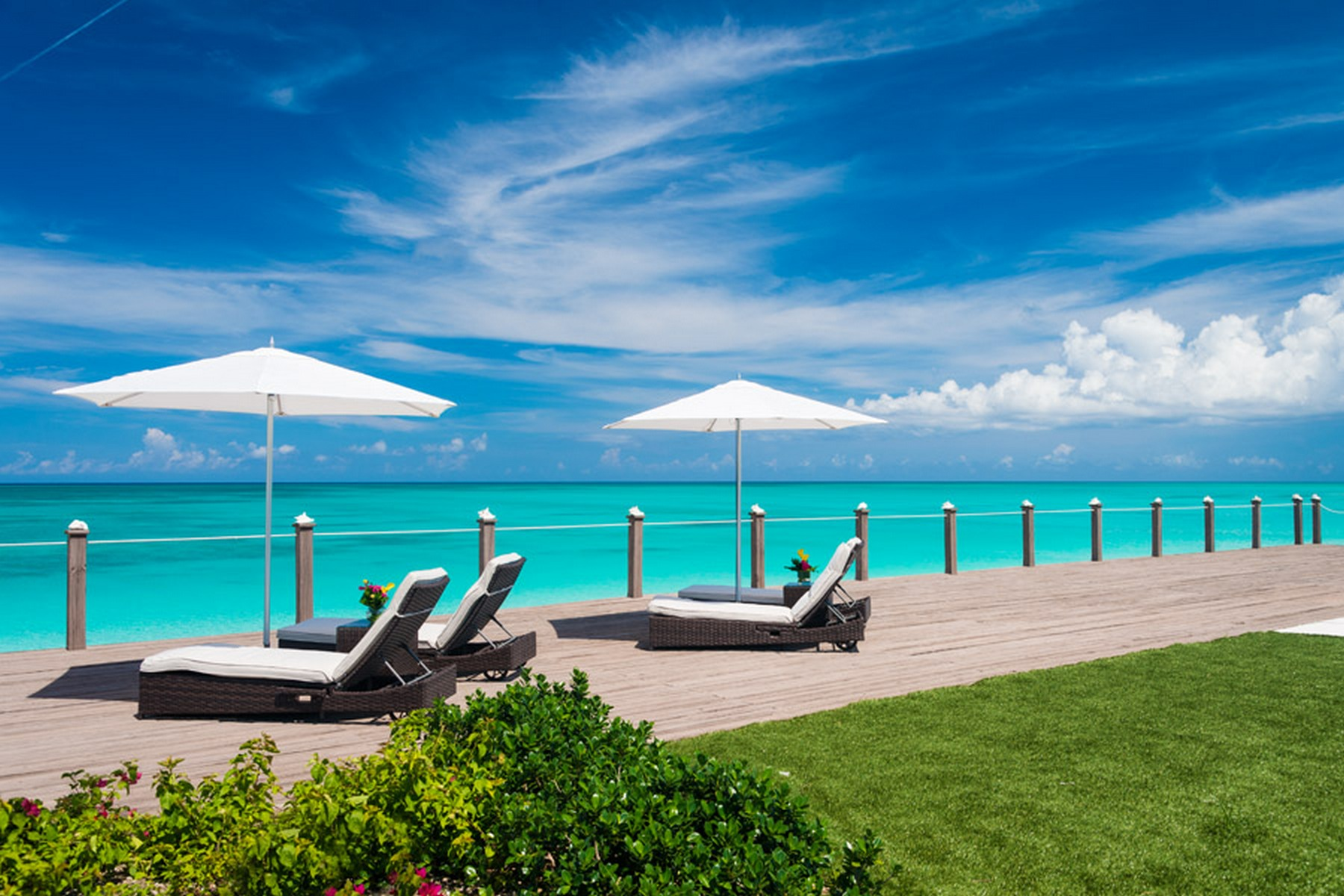 Additional photo for property listing at Conch Villa ~ Vacation Rental Beachfront Leeward, Providenciales TC Turks And Caicos Islands