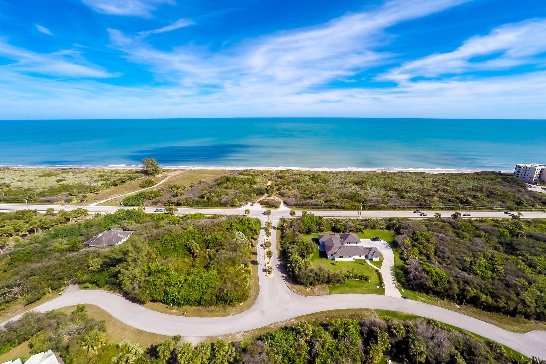 土地 为 销售 在 145 Regatta Street 墨尔本海滩, 佛罗里达州, 32951 美国